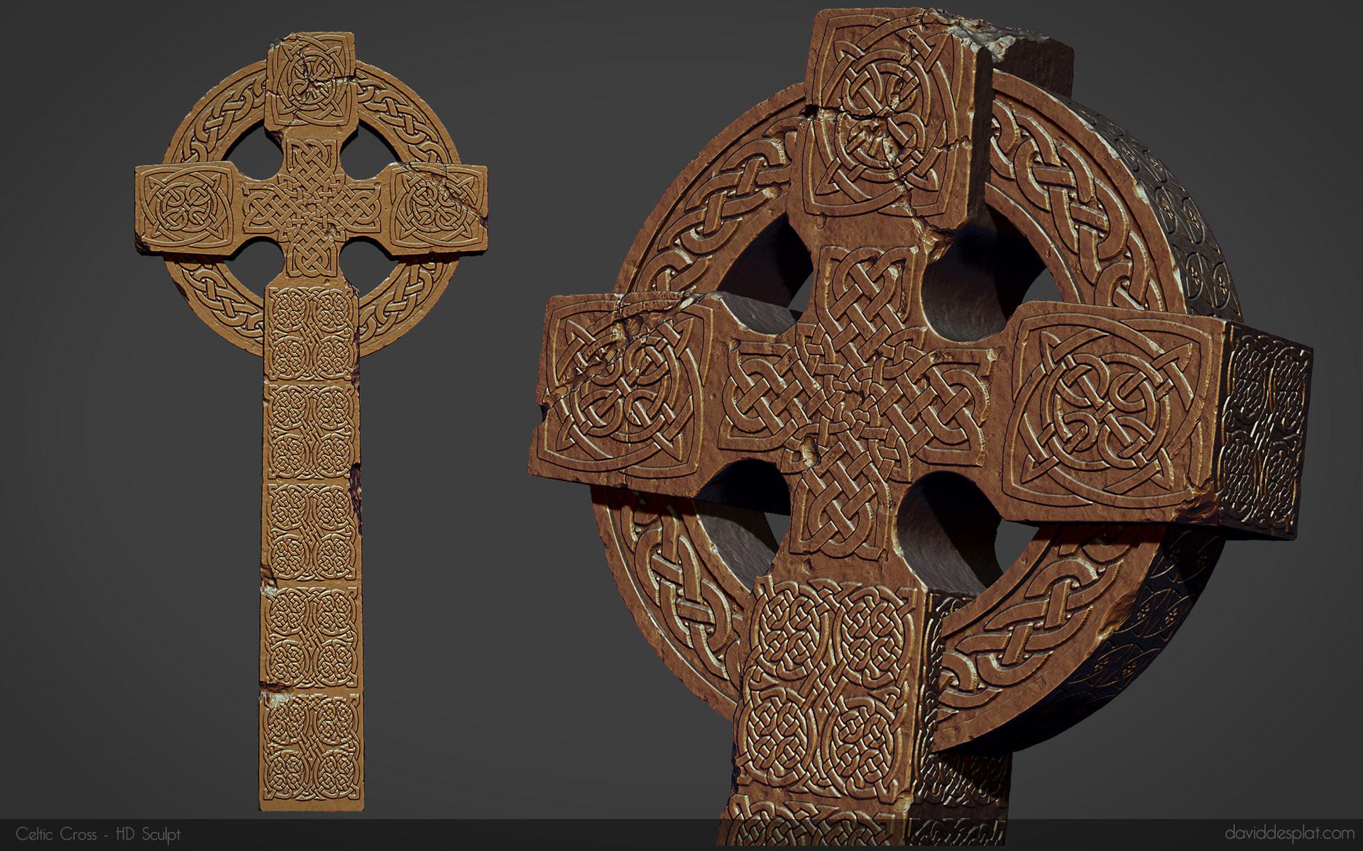 Res: 1920x1200, Study - Celtic Cross