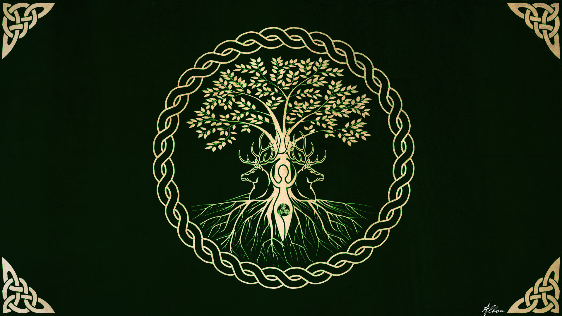 Res: 1920x1080, ... Celtic Knot Wallpapers Desktop - Wallpaper Gallery ...