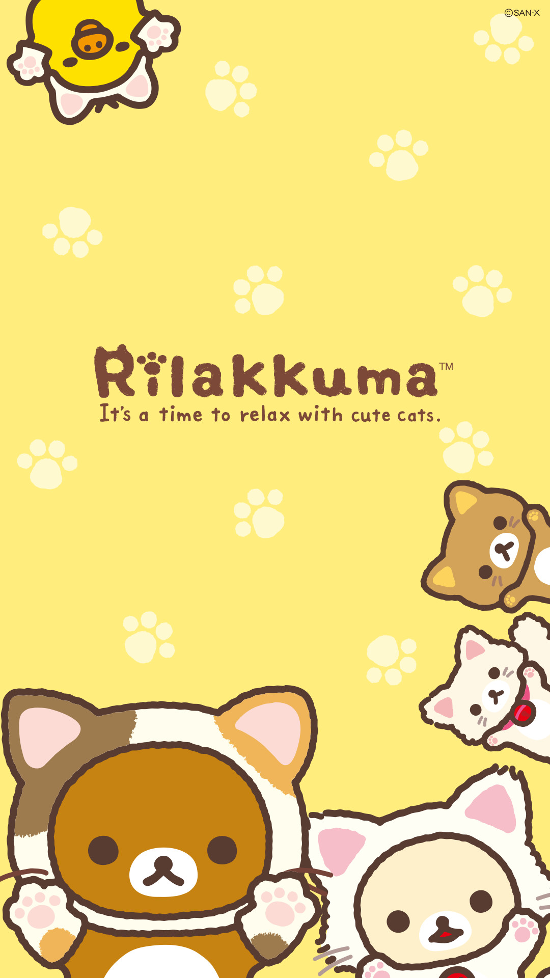 Res: 1080x1920, Quickly put small fresh Rilakkuma Wallpaper for your phone now! In pictures!