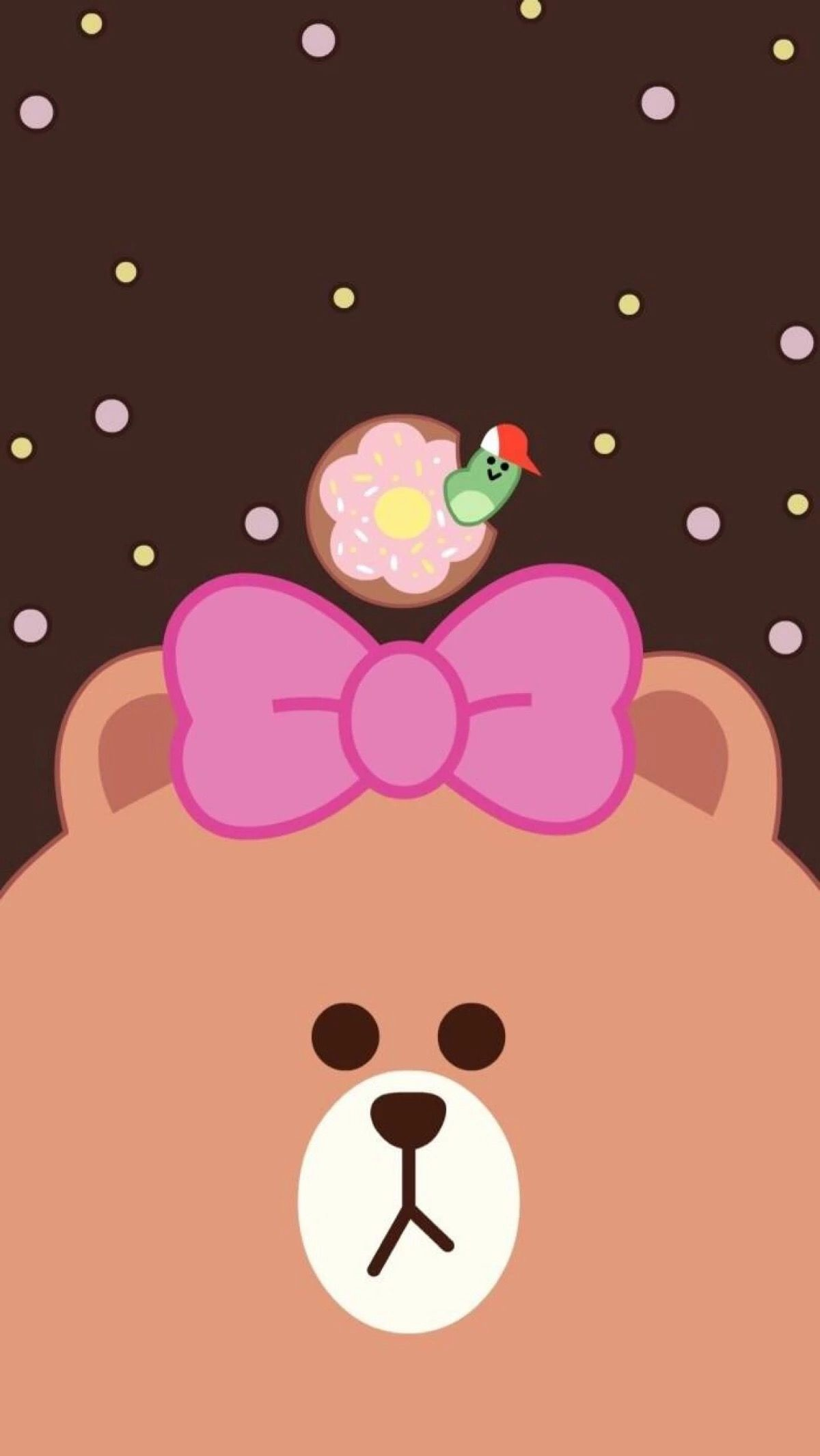 Res: 1200x2132, Friends Wallpaper, Line Friends, Cartoon Wallpaper, Iphone 7, Rilakkuma, Iphone  Wallpapers, Phone Wallpapers, Softies, Display