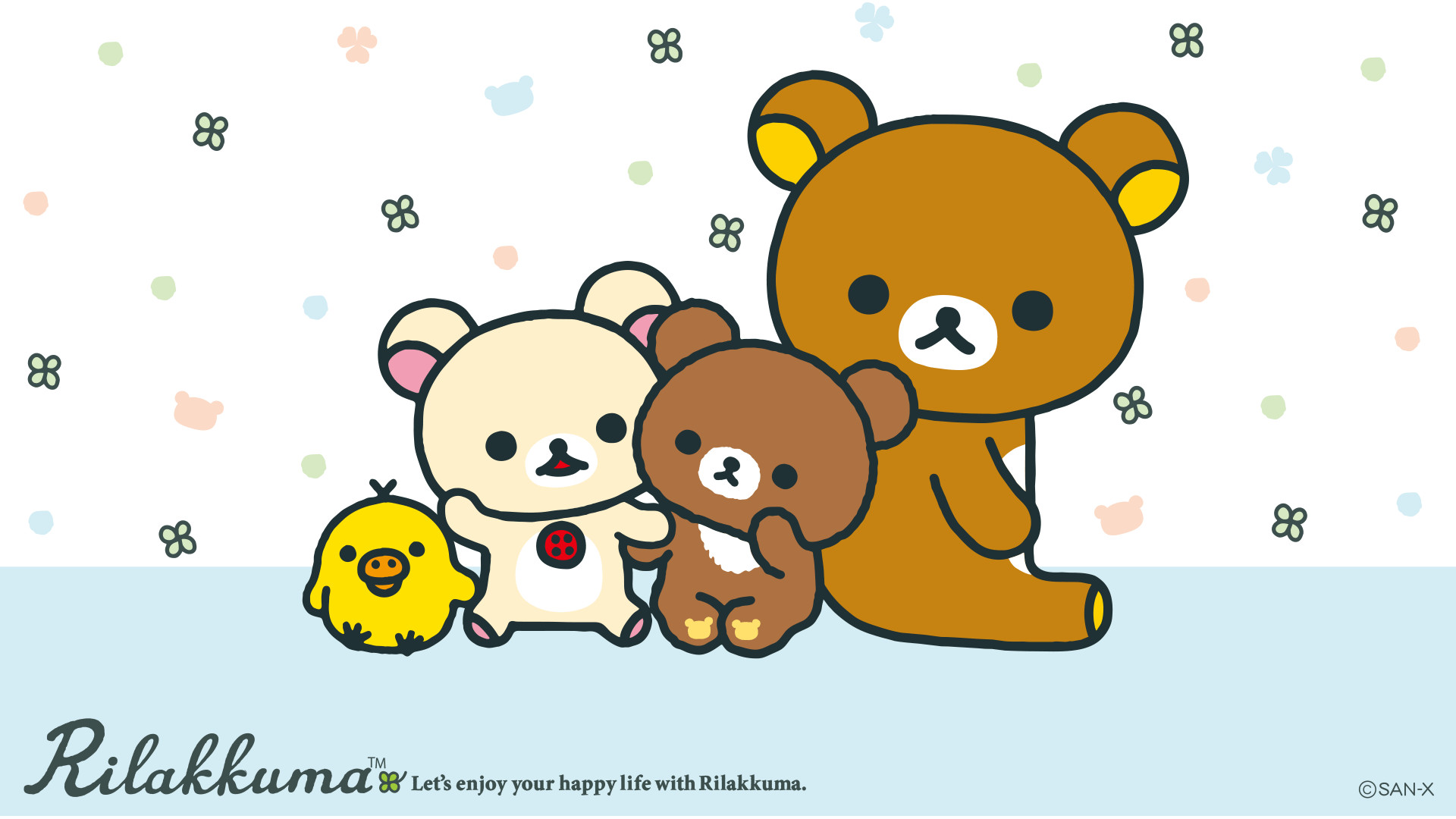 Res: 1920x1080, Korilakkuma and Kogumachan Wallpaper