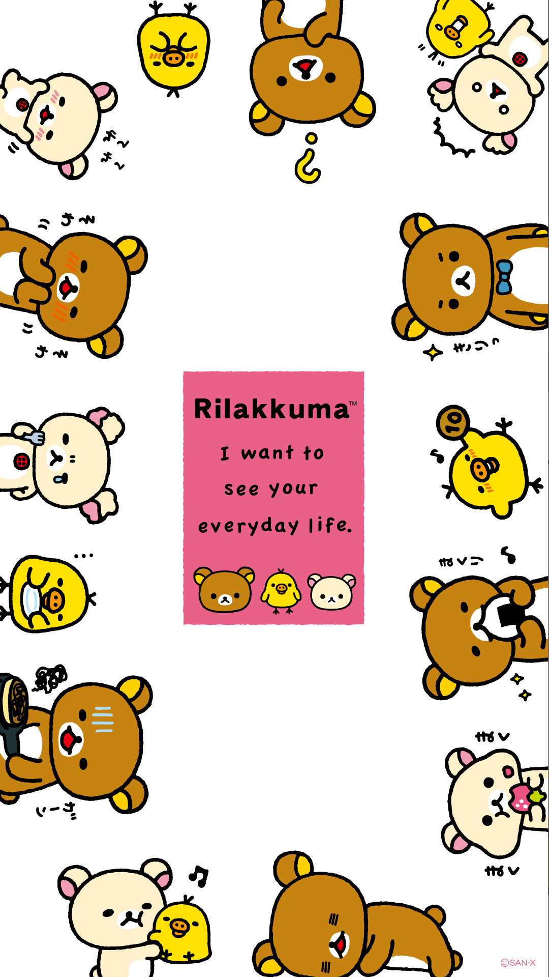 Res: 1080x1920, cfdebadc-rilakkuma-phone-wallpaper-wp380543
