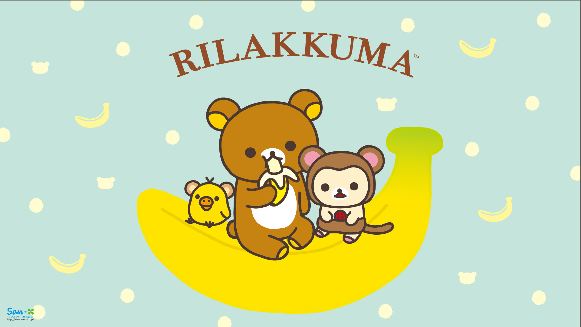 Res: 1920x1080, Monkey Rilakkuma Wallpaper