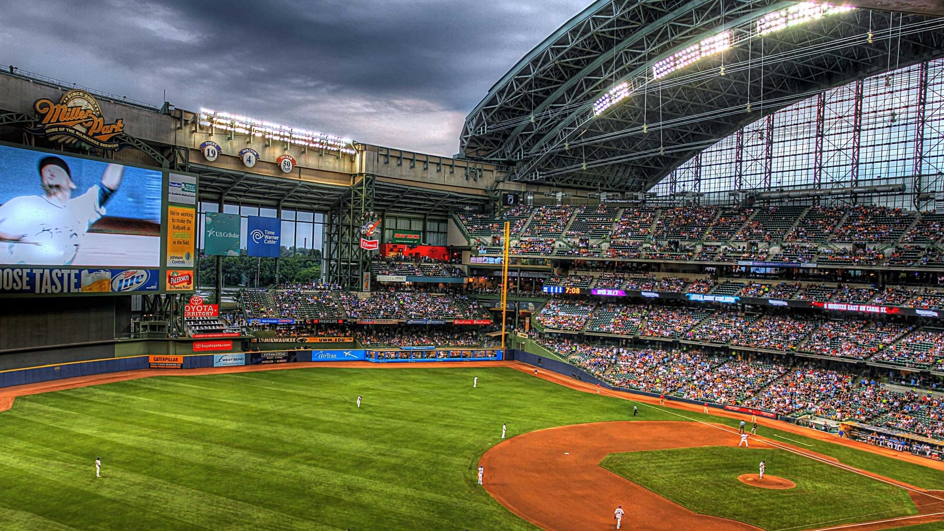 Res: 1920x1080, Brewers Wallpapers HD.