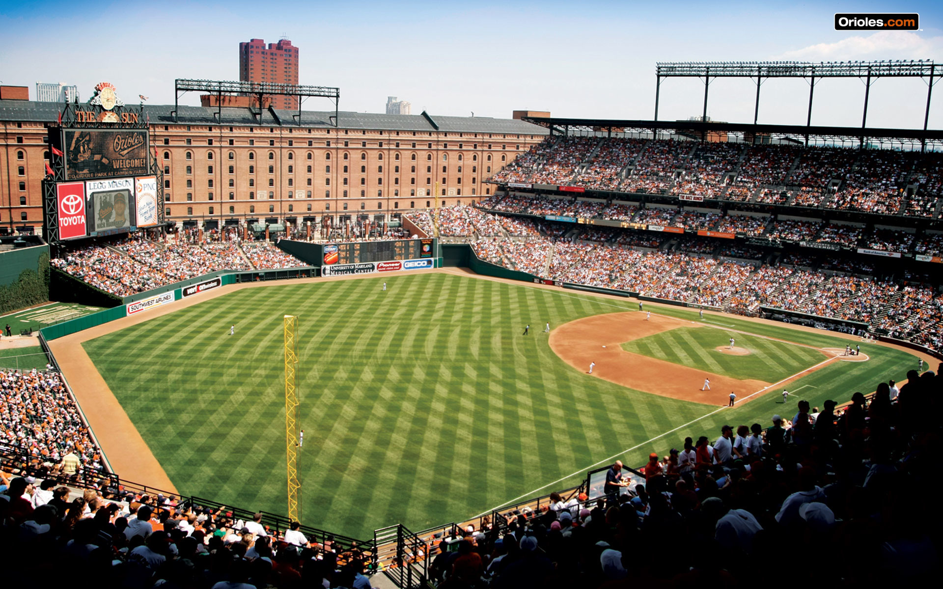 Res: 1920x1200, Camden Yards Wallpaper