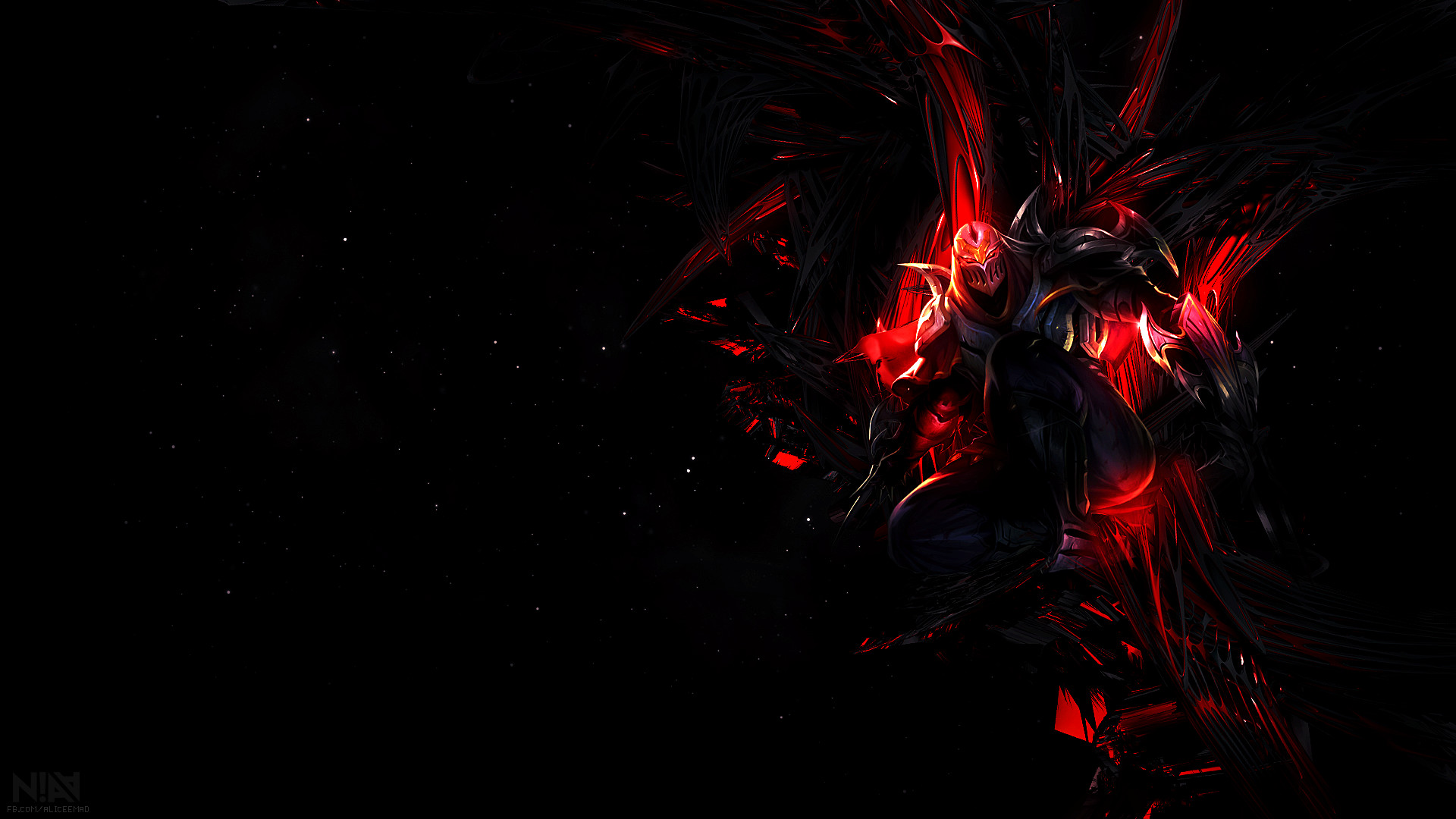 Res: 1920x1080, ... League of Legends Wallpaper - Zed by AliceeMad