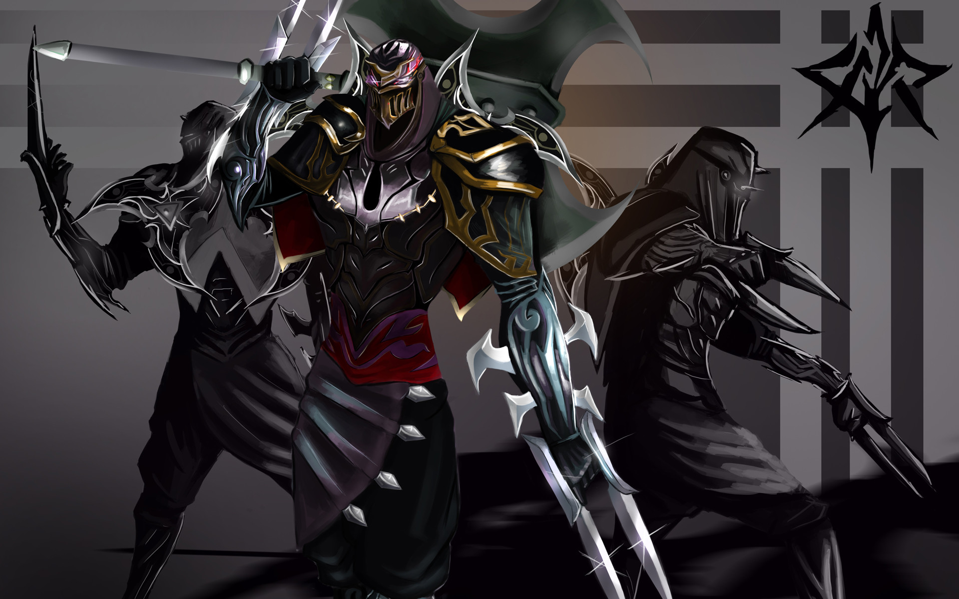Res: 1920x1200, zed the master of shadow champion league of legends