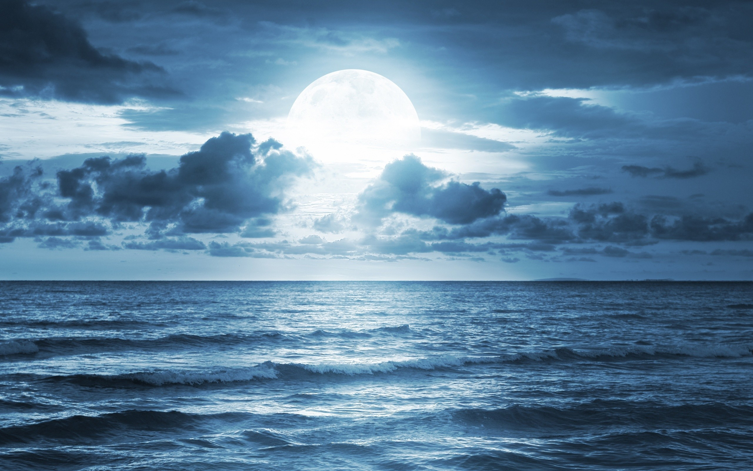 Res: 2560x1600, Nature Wallpapers. Download the following Ocean Scene ...