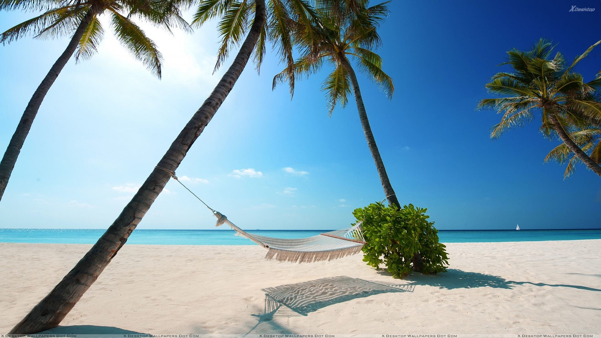 """Res: 1920x1080, You are viewing wallpaper titled """"Maldives Islands Beach Scene"""" ..."""
