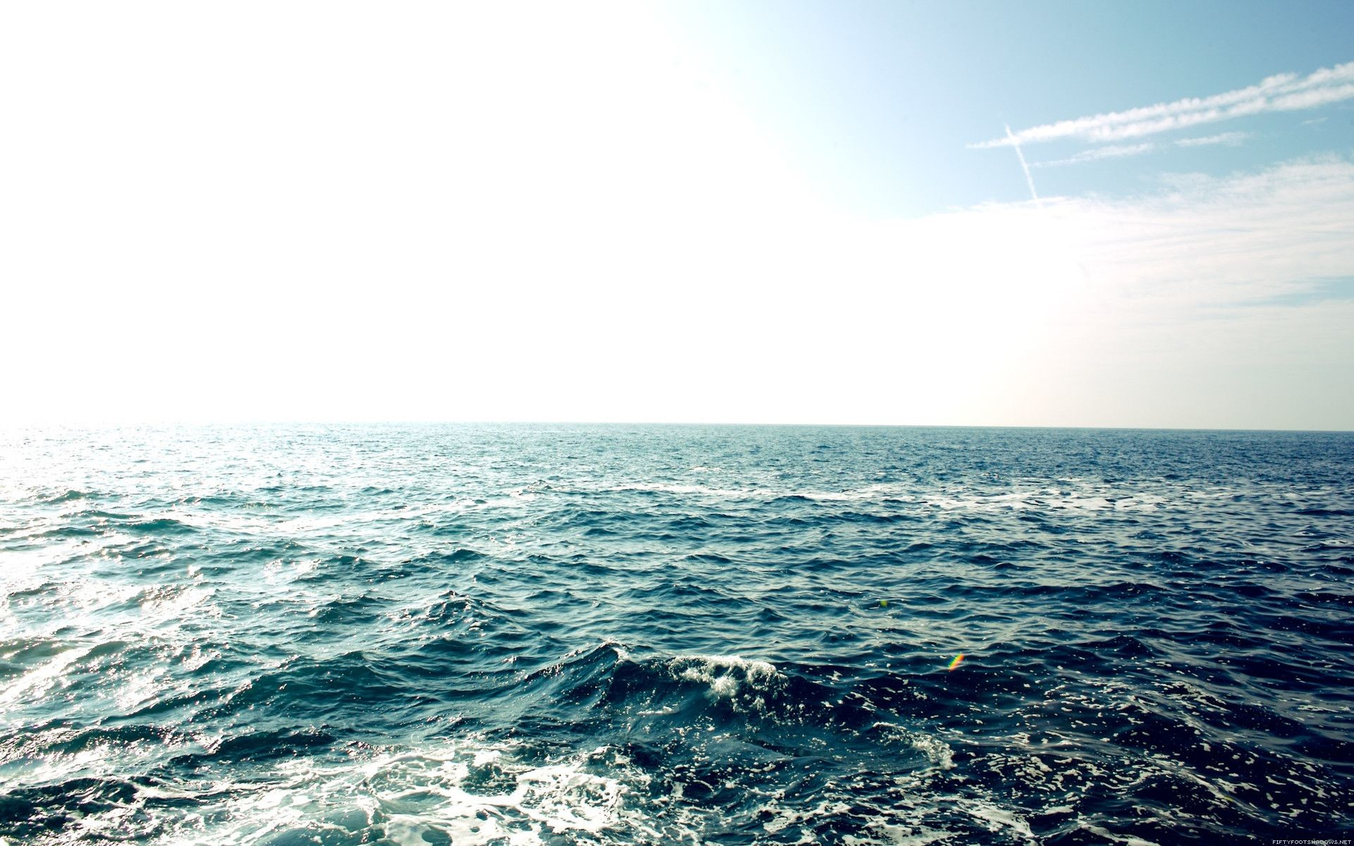 Res: 1920x1200, Beautiful ocean water - blue water and blue sky. Beautiful Water Scenes  Wallpapers . Awsome