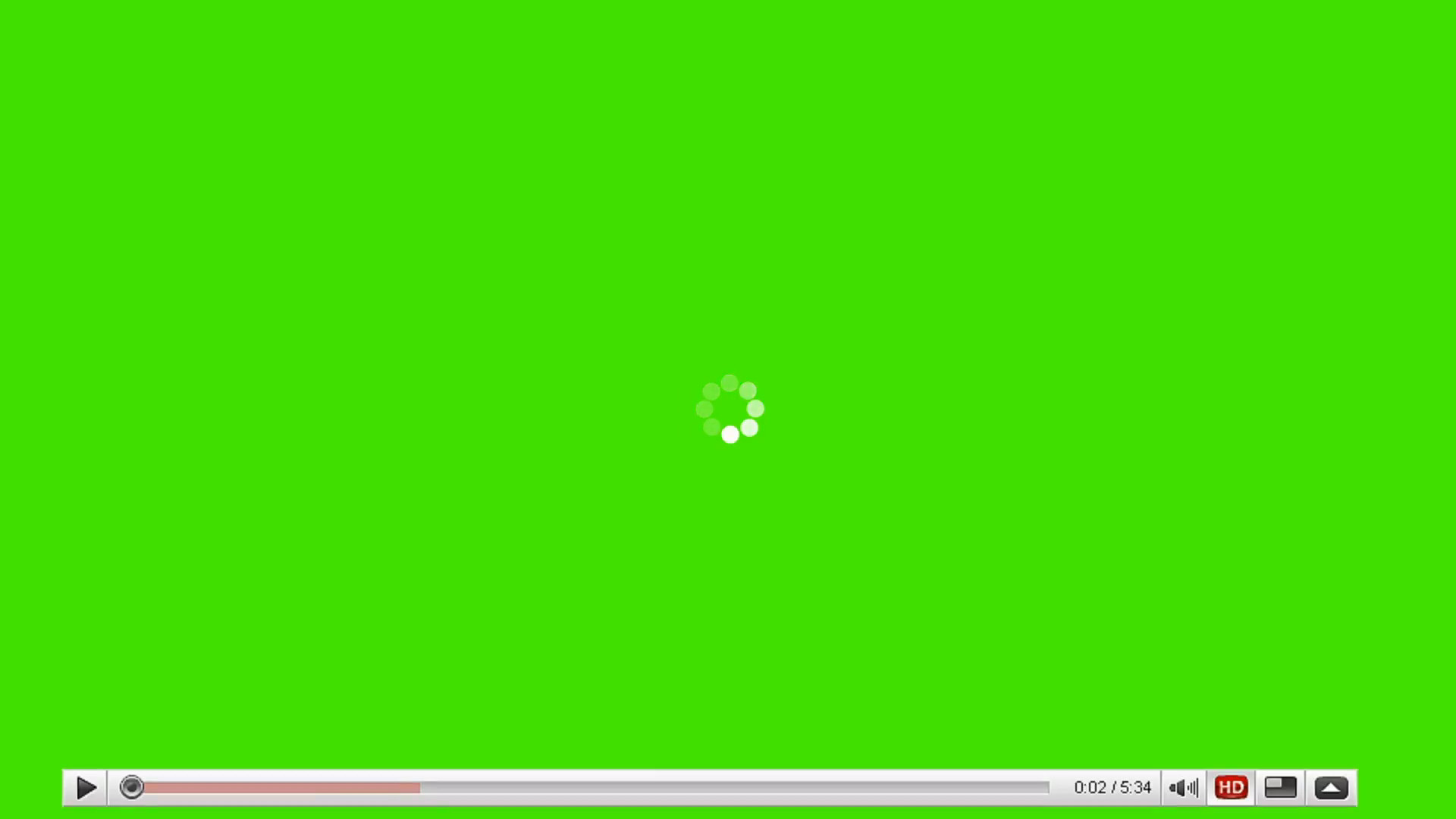 Res: 1920x1080, Movie Player Loading Video on a Green Screen Background Motion Background - Videoblocks