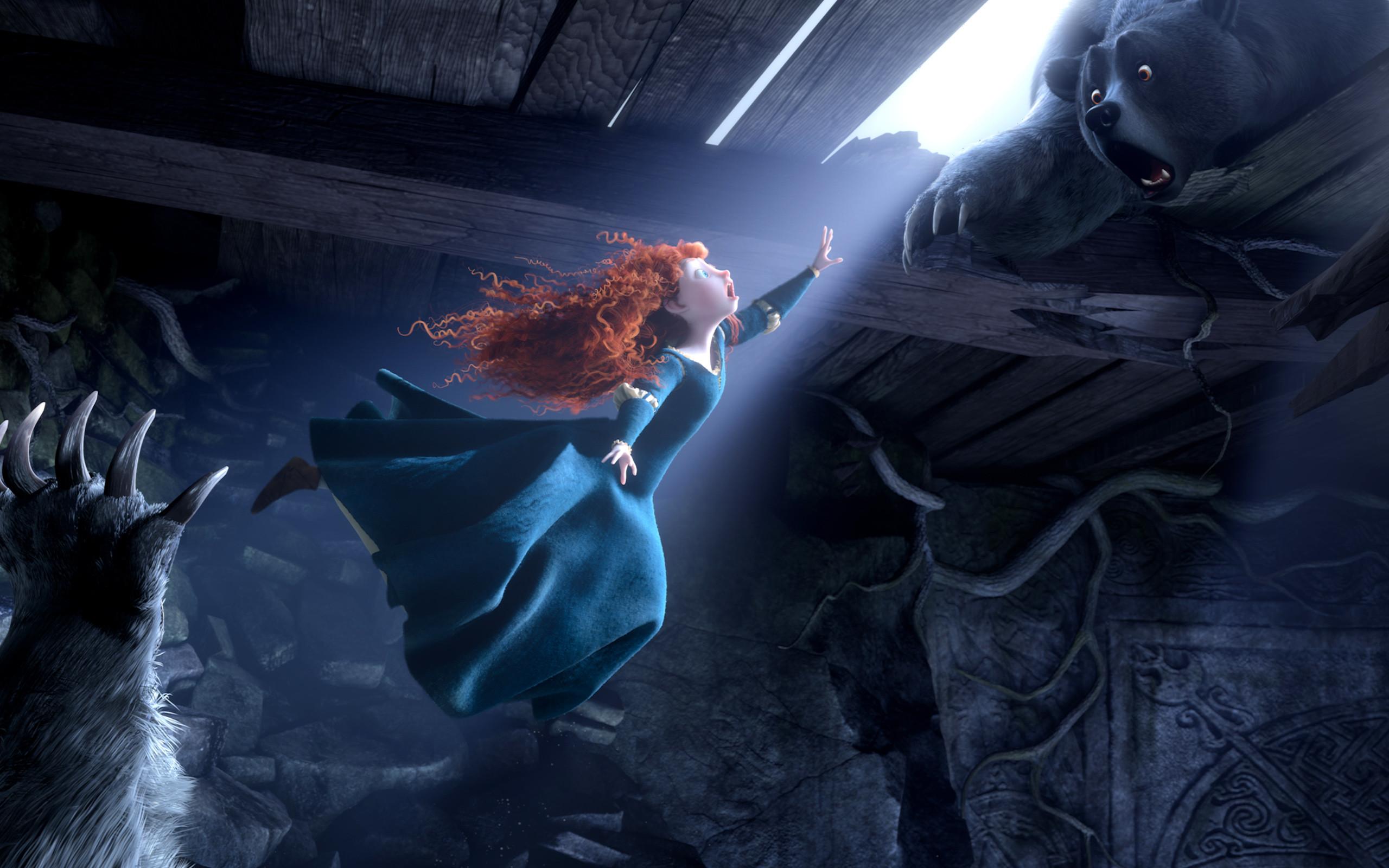 Res: 2560x1600, Princess Merida Brave Movie Wallpaper