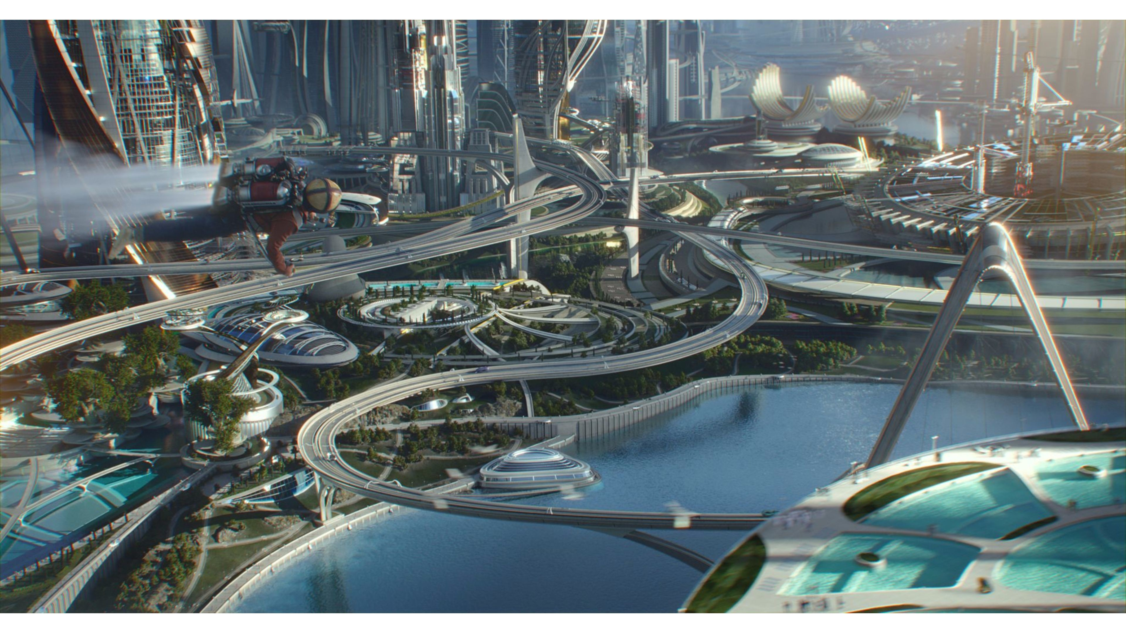 Res: 3840x2160, New Tomorrowland Movie 4K Wallpapers