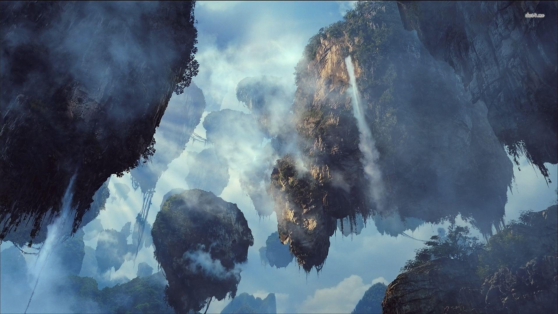 Res: 1920x1080, ... Avatar - Hallelujah Mountains wallpaper ...