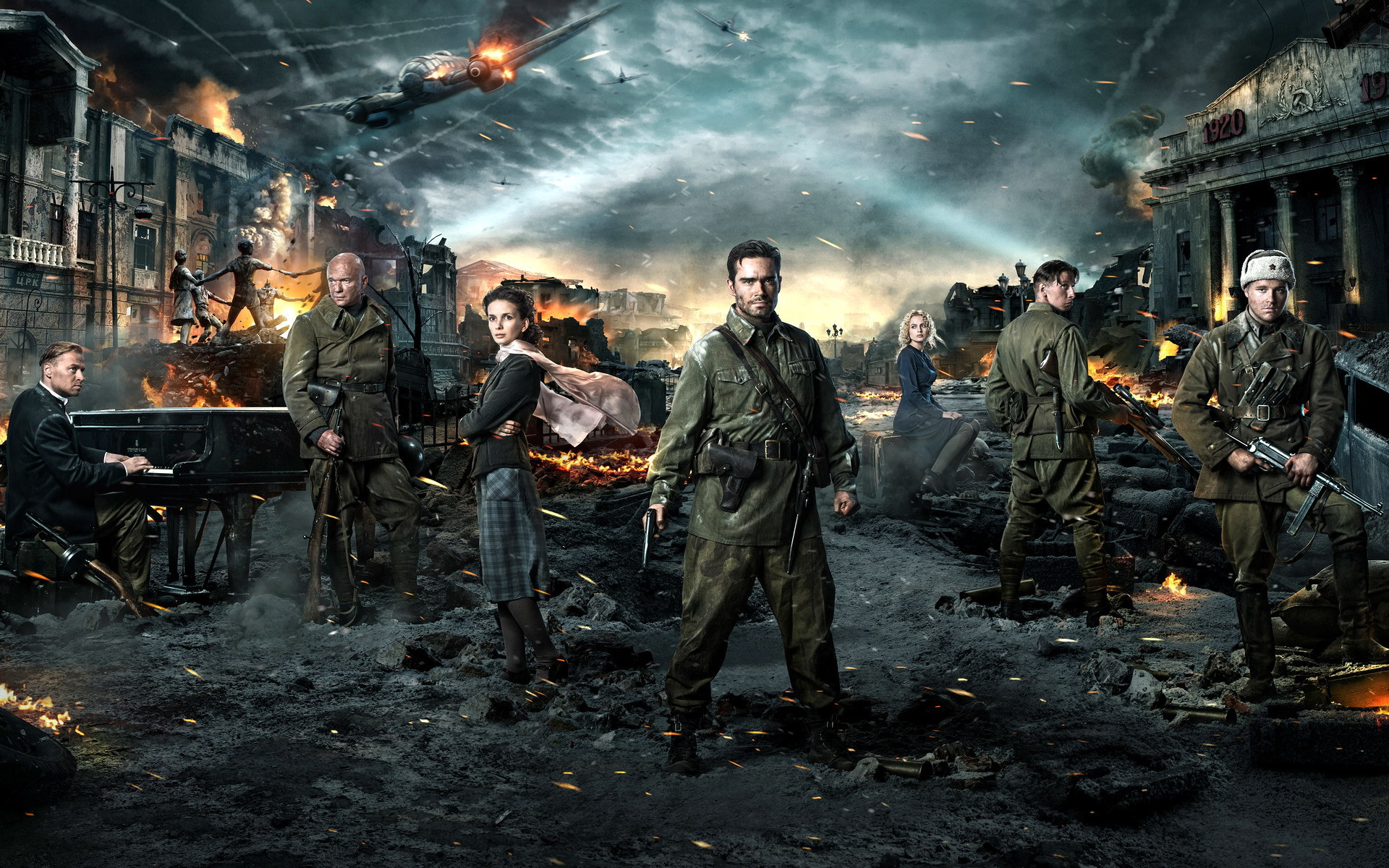 Res: 1920x1200, Stalingrad Movie HD Full Screen Wallpaper