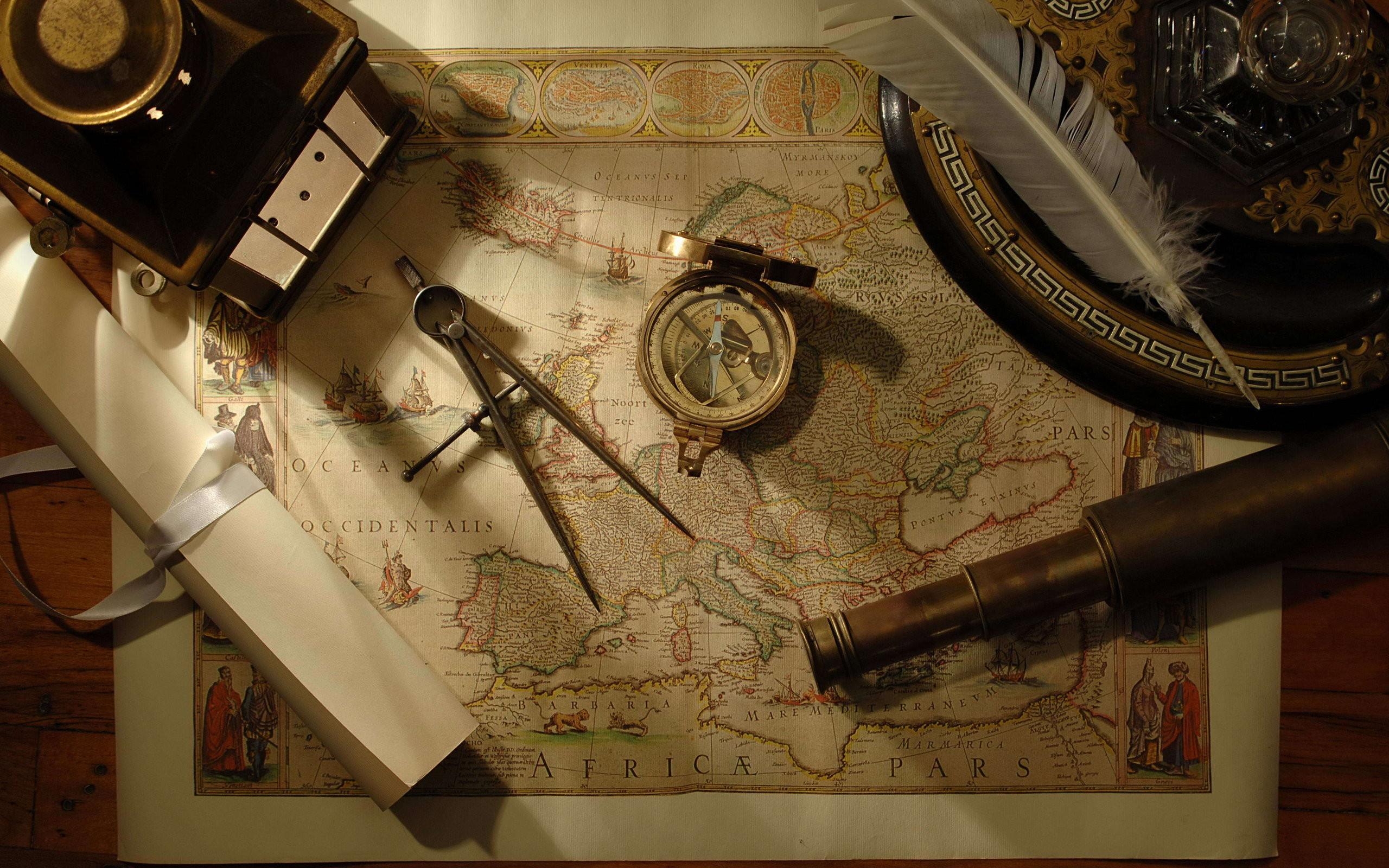 Res: 2560x1600, Nautical navigation tools wallpaper |  | 1213 ... Nautical Desktop  Wallpaper