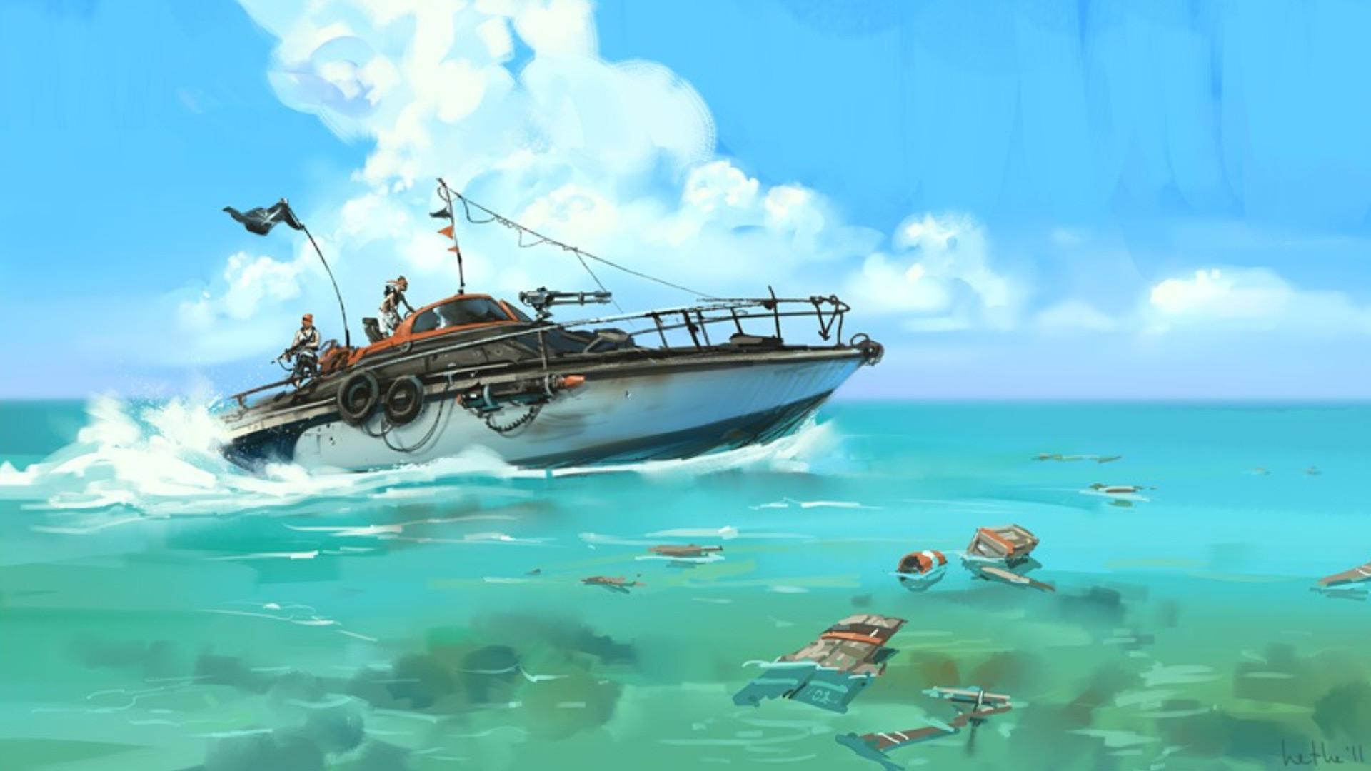 Res: 1920x1080, Vehicles - Boat Wallpaper
