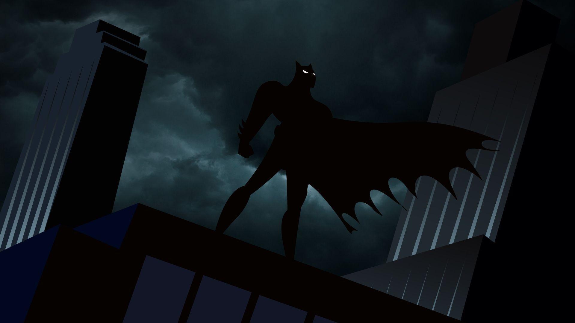 Res: 1920x1080, Batman The Animated Series Gotham wallpaper - 1264582