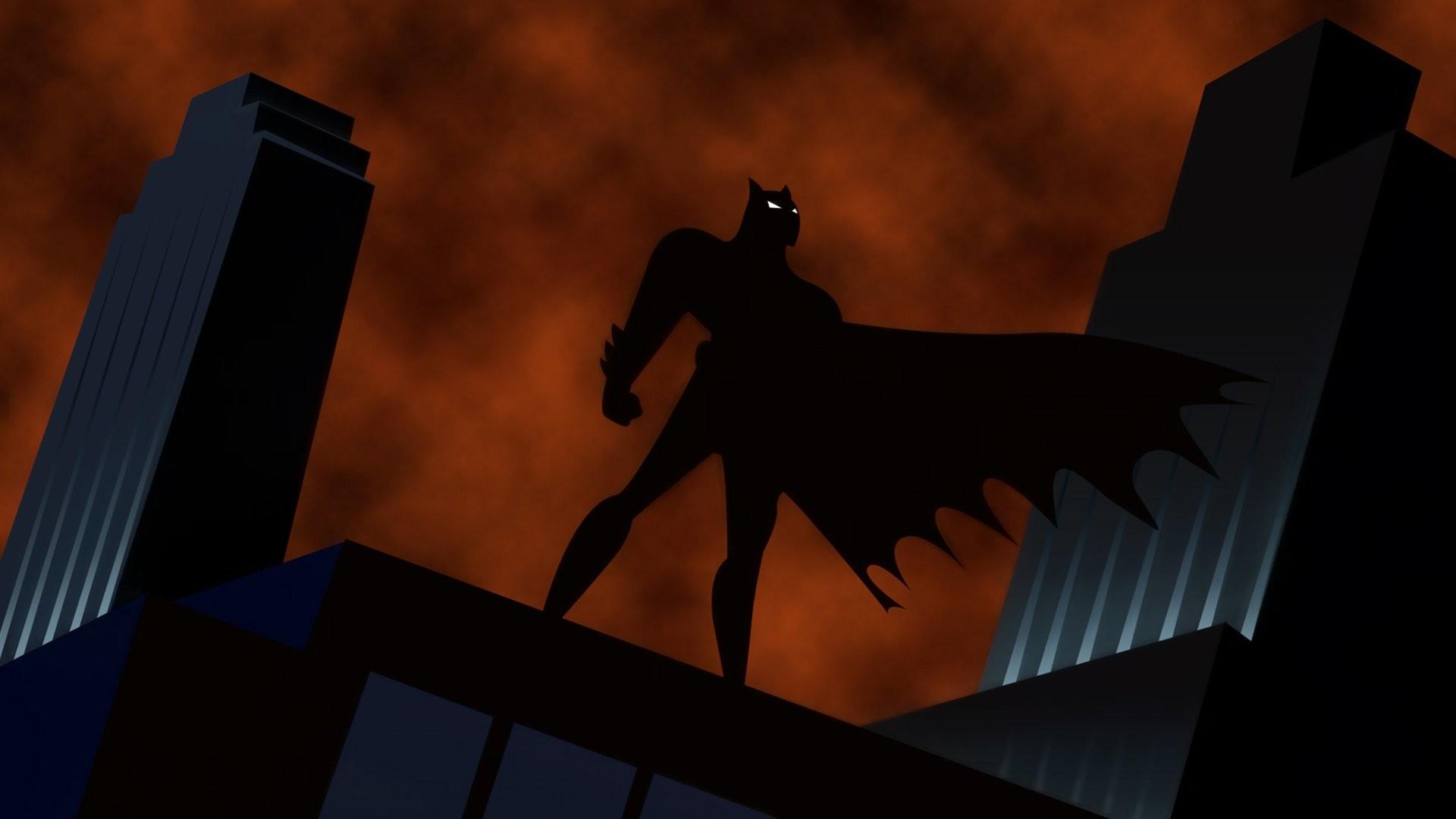 Res: 1920x1080, TV Show - Batman: The Animated Series Batman Wallpaper