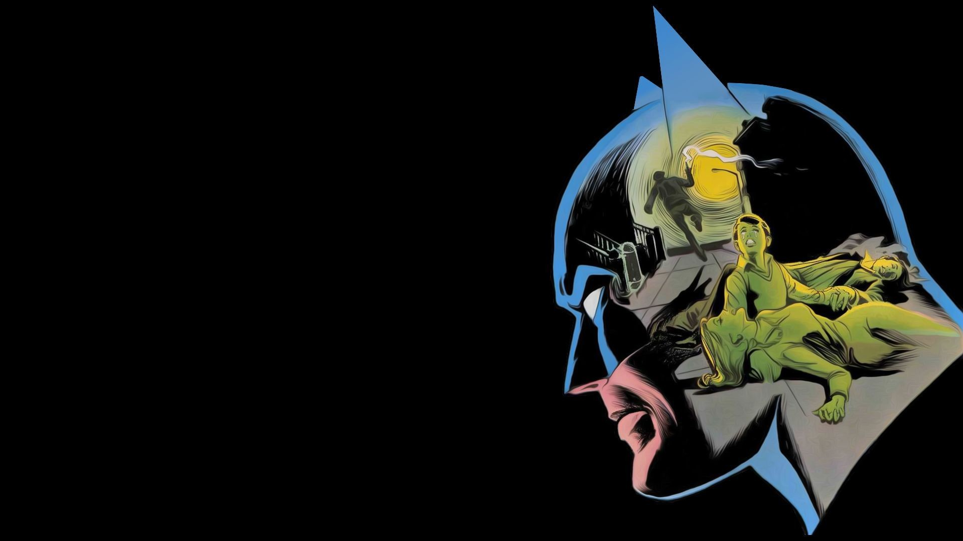 Res: 1920x1080, Gallery for - batman comics wallpaper