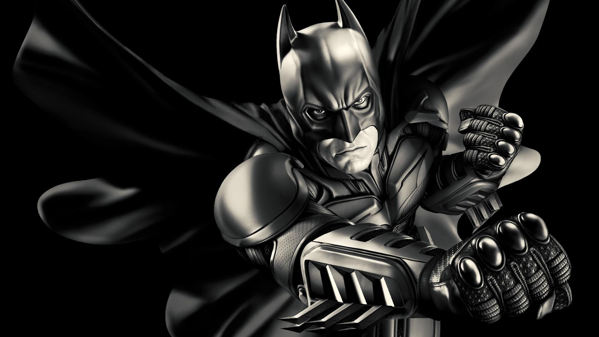 Res: 1920x1080,  Wallpaper batman, bruce wayne, dark knight, comics, cartoon