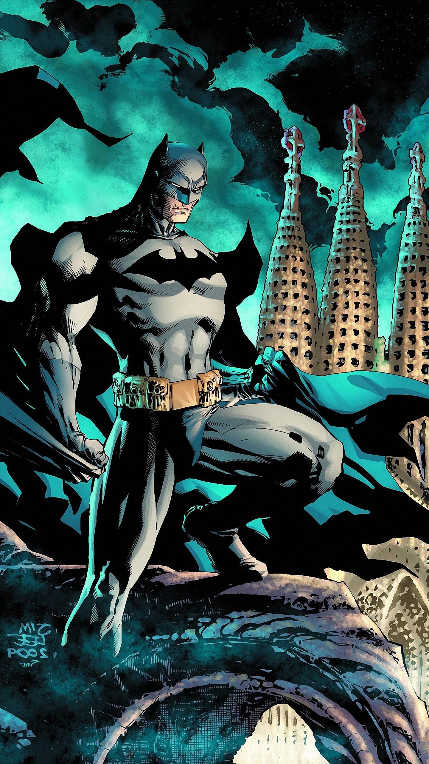 Res: 1440x2560, batman cartoon wallpaper iphone
