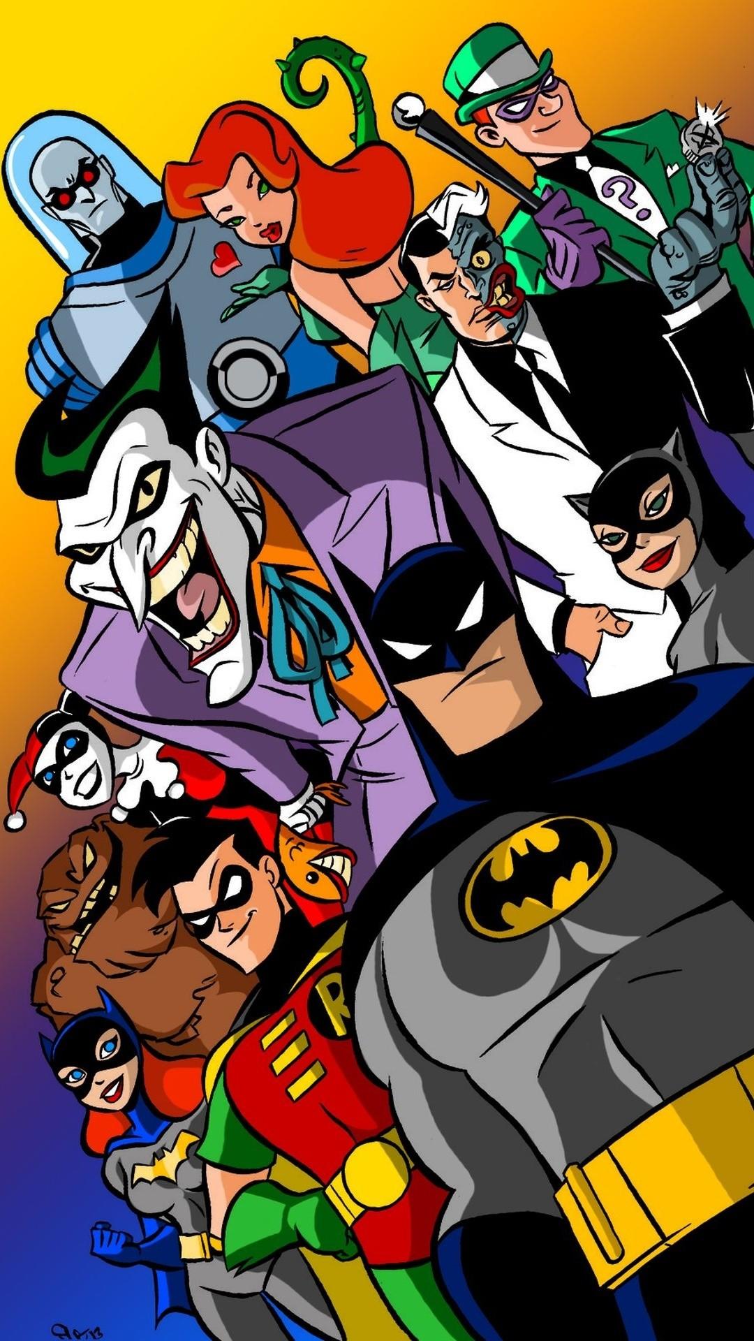 Res: 1080x1920, Popular Batman Cartoon Wallpaper Iphone 6 - batman-animated-series-iphone-6