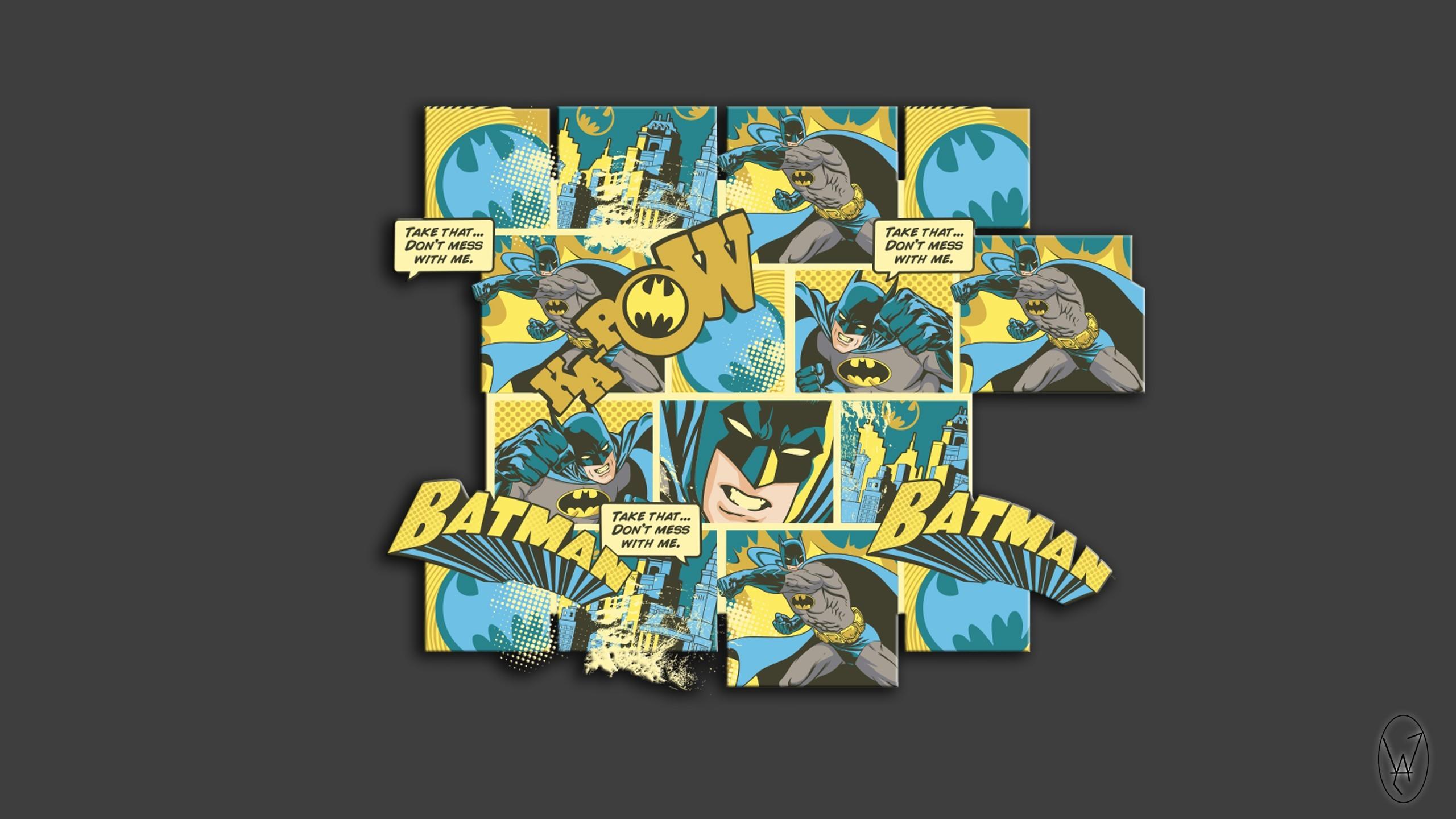 Res: 2560x1440, Batman, Sketches, Logo, Comics Wallpapers HD / Desktop and Mobile  Backgrounds