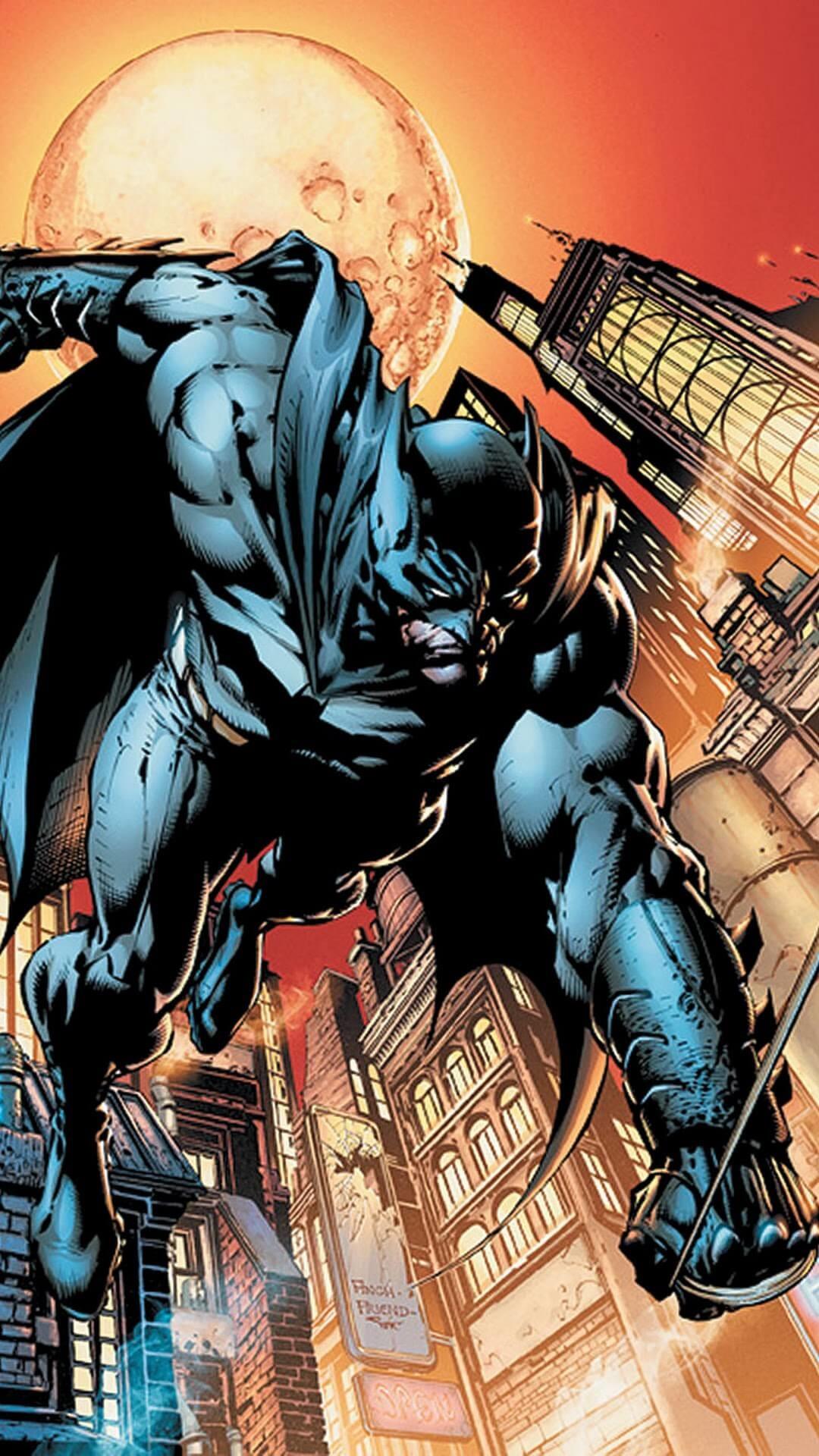 Res: 1080x1920, iPhone Wallpapers Batman Comics.
