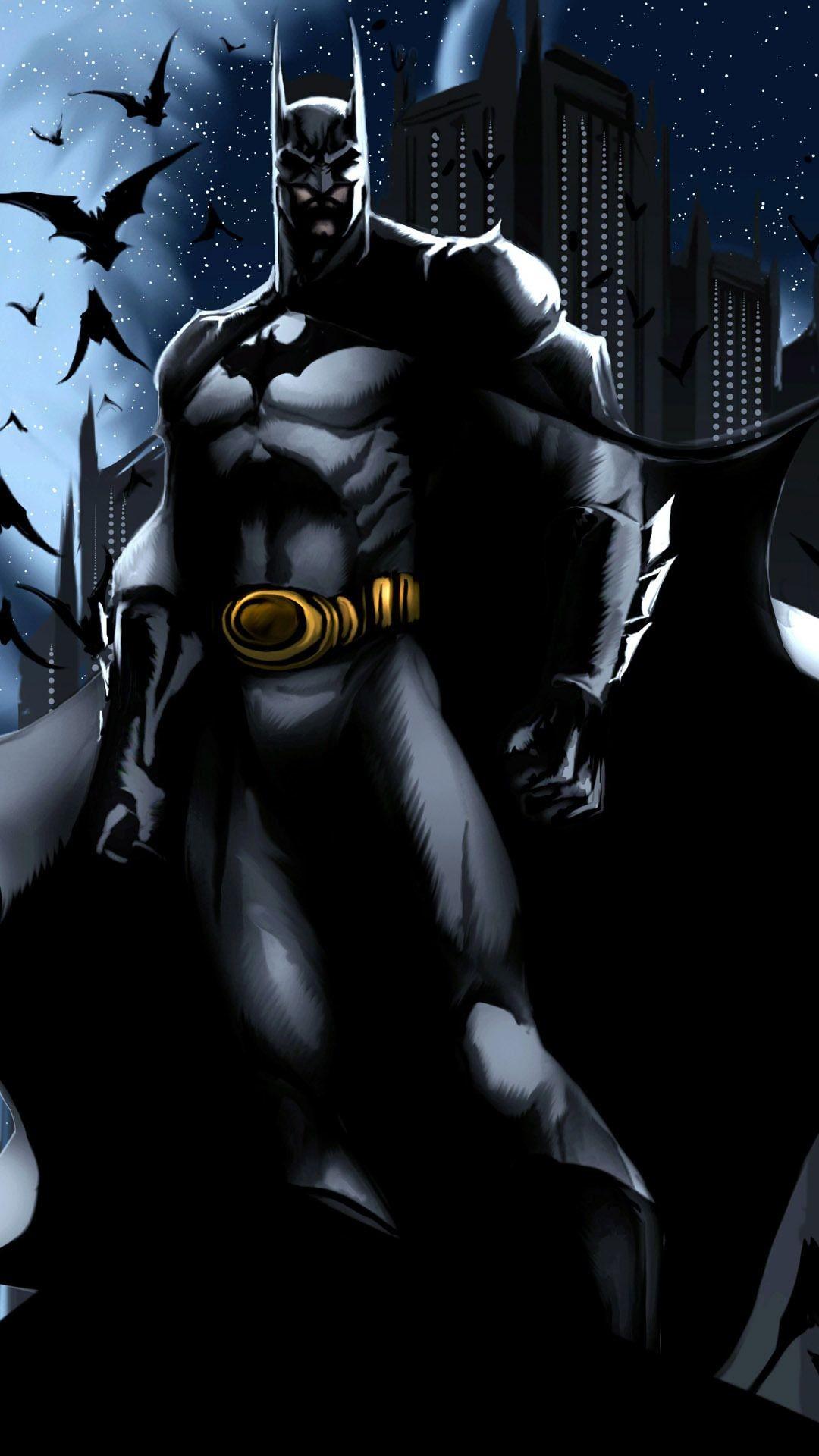 Res: 1080x1920, Batman Cartoon samsung galaxy Wallpaper HD Mobile × Batman