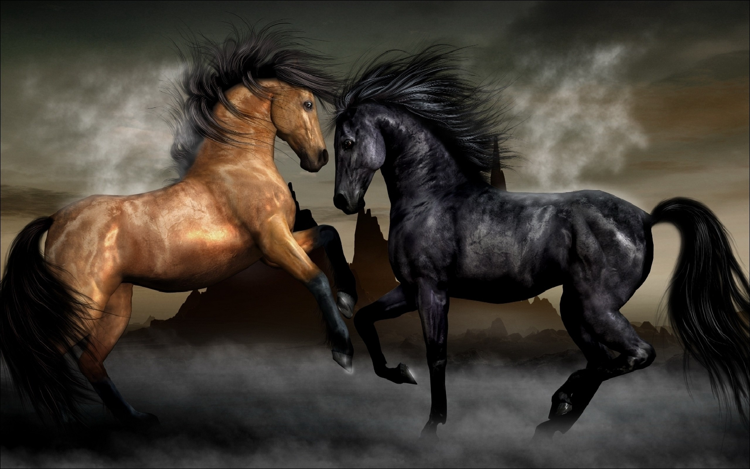 Res: 2560x1600, 1136 Horse HD Wallpapers | Backgrounds - Wallpaper Abyss