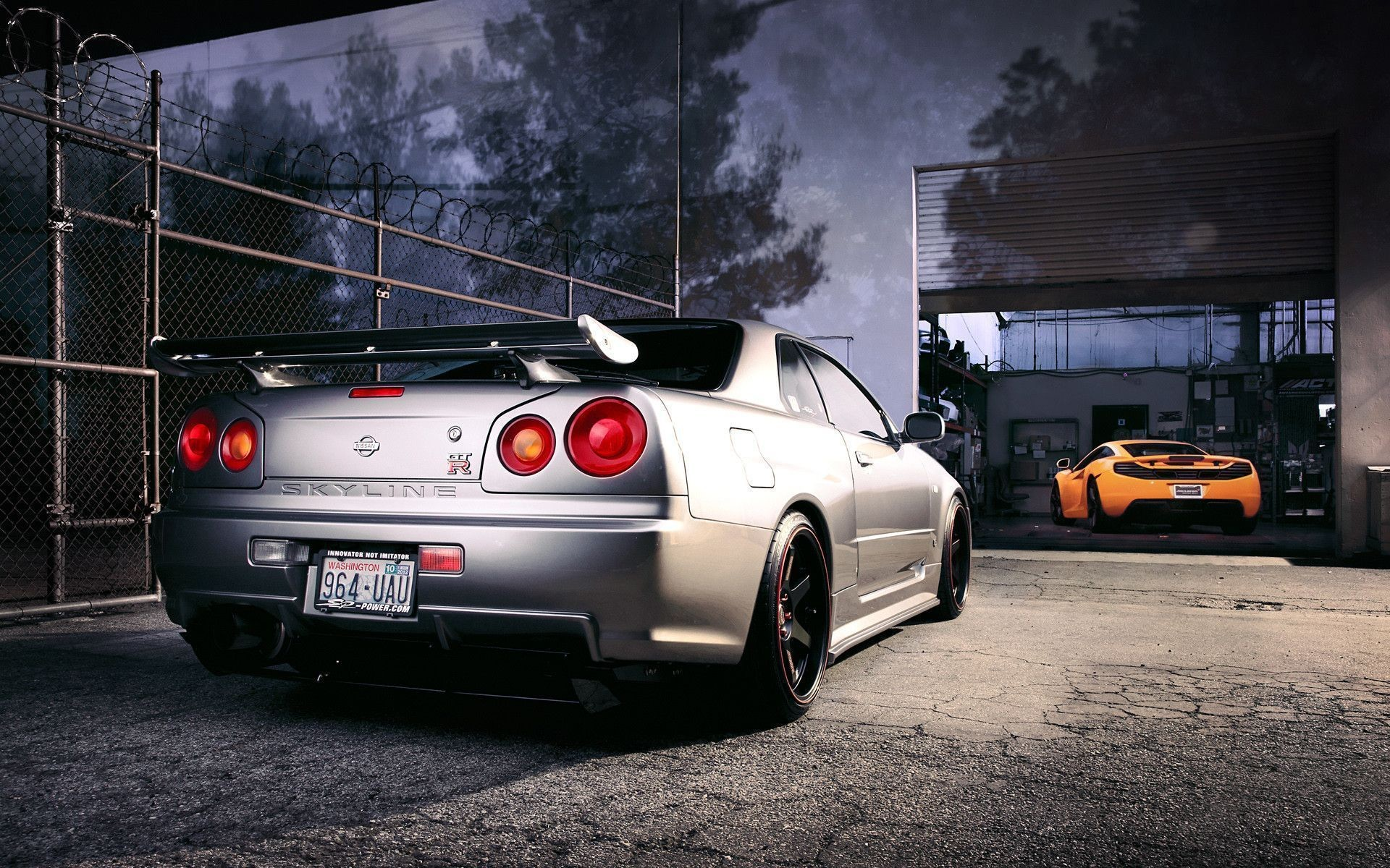 Res: 1920x1200, Nissan Skyline GTR R34 Wallpapers - Wallpaper Cave