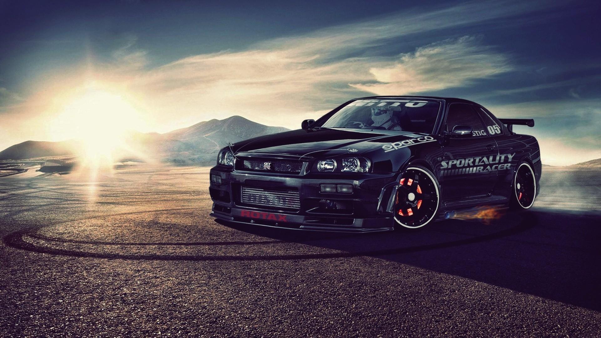 Res: 1920x1080, Nissan skyline r34 gt-r wallpaper