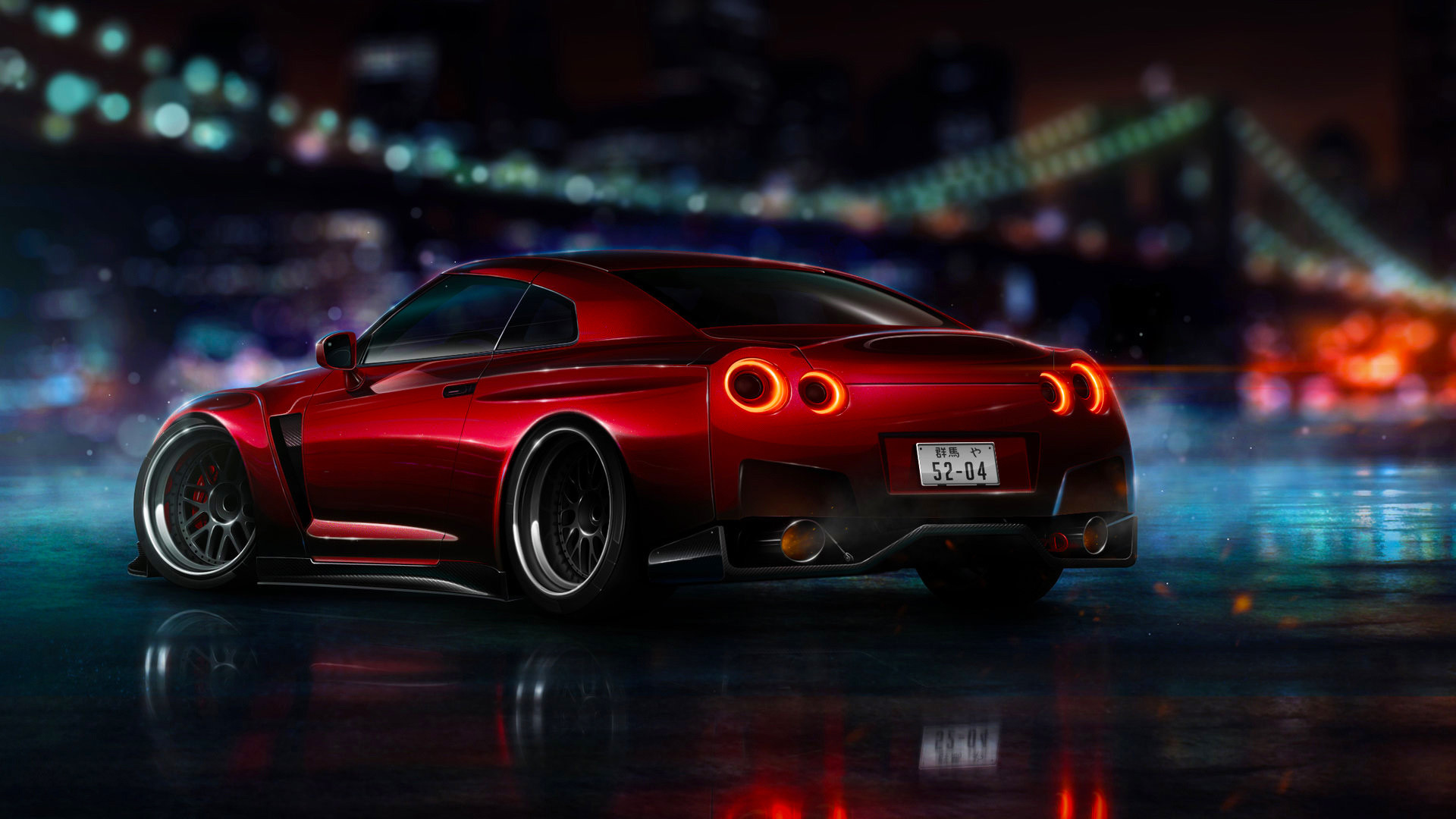 Res: 1920x1080, Tags: Nissan