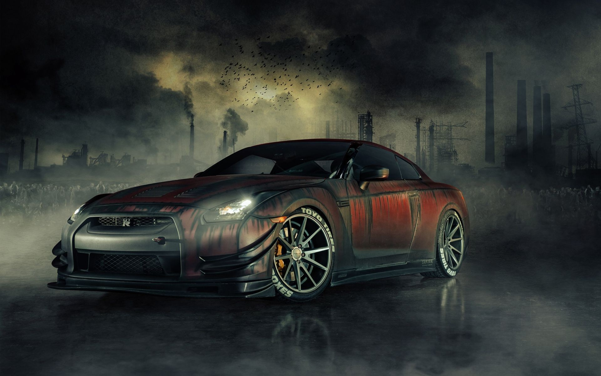 Res: 1920x1200, Nissan GTR R35 Zombie Killer Wallpapers | HD Wallpapers