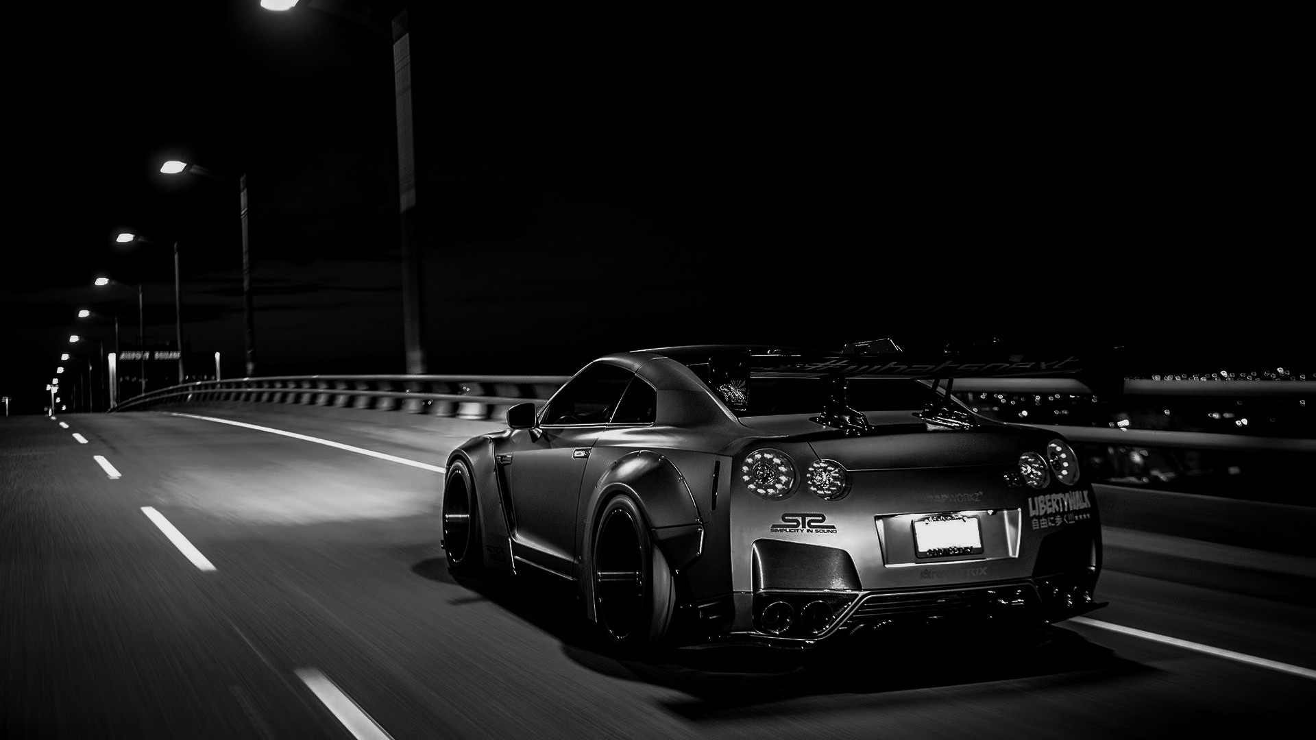 Res: 1920x1080, tuning, Nissan Skyline GT R R35, Liberty Walk, Nissan GTR Wallpapers HD /  Desktop and Mobile Backgrounds