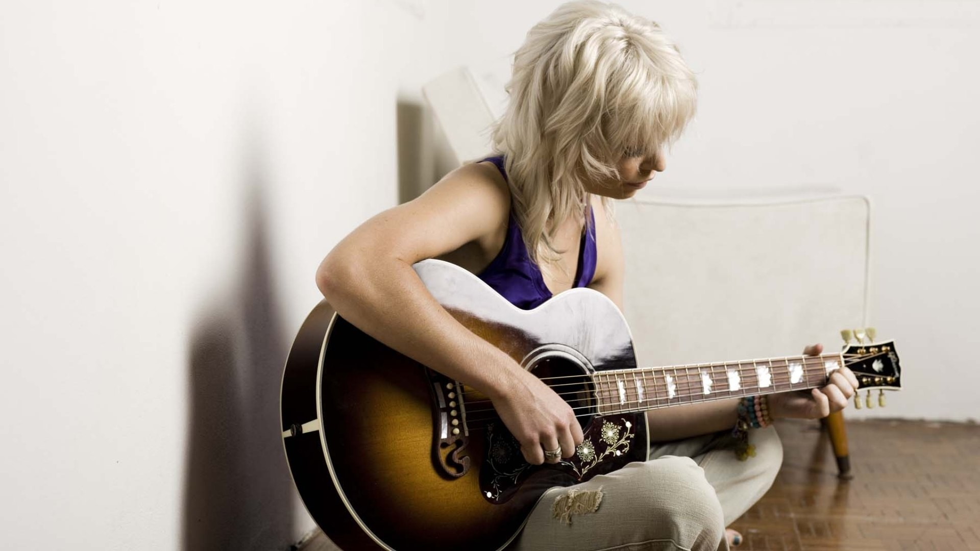 Res: 1920x1080, Get the latest gin wigmore, guitar, girl news, pictures and videos and  learn all about gin wigmore, guitar, girl from wallpapers4u.org, your  wallpaper news ...