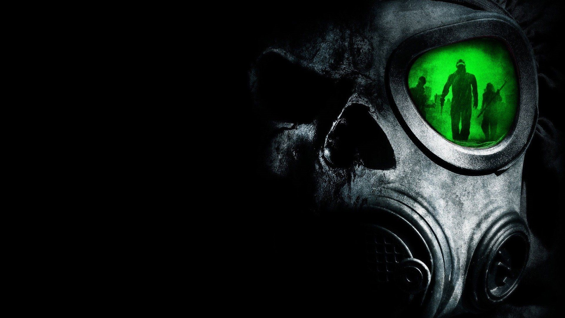 Res: 1920x1080, https://www.walldevil.com/wallpapers/a71/hye-windows-jin-wallpaper- wallpapers-song-skull-green-biohazard-theme-images.jpg