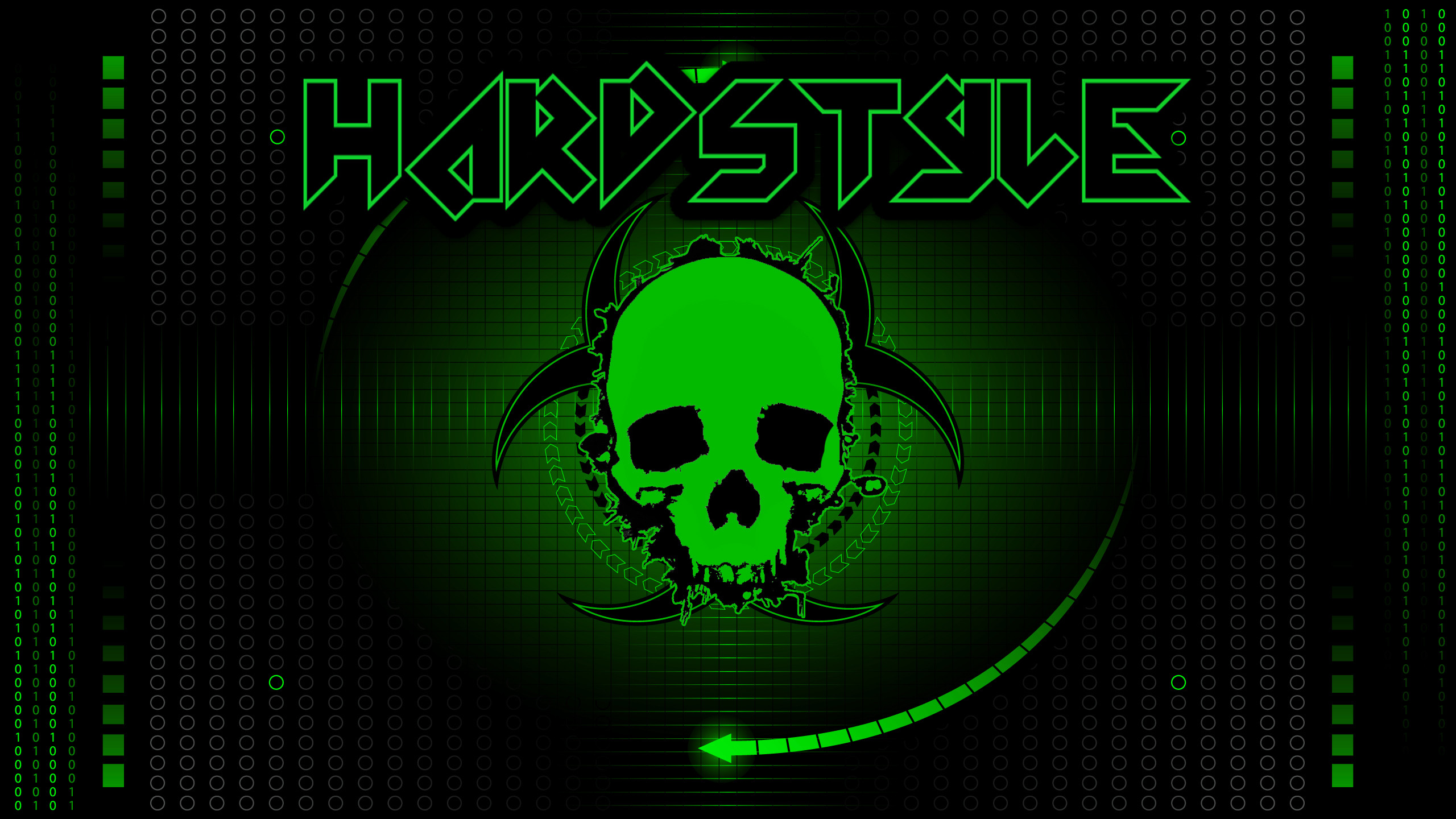 Res: 2560x1440, Hardstyle Wallpaper Green Redone by thorpsy100 Hardstyle Wallpaper Green  Redone by thorpsy100