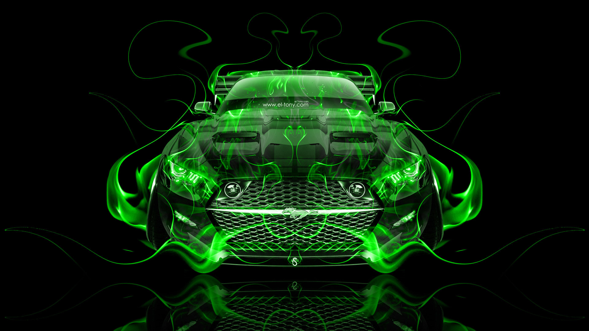 Res: 1920x1080, gallery of with ford mustang wallpaper green