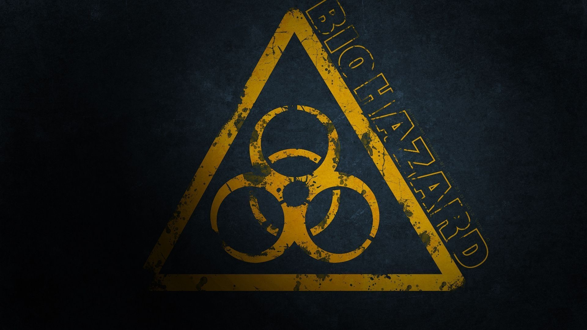 Res: 1920x1080,  biohazard, the danger sign, biohazard Wallpapers and .
