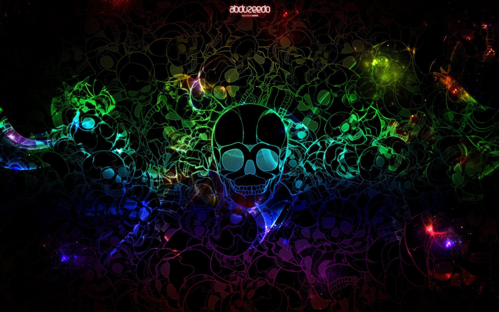 Res: 1920x1200, colourful skull wallpaper - http://69hdwallpapers.com/colourful-skull- wallpaper/