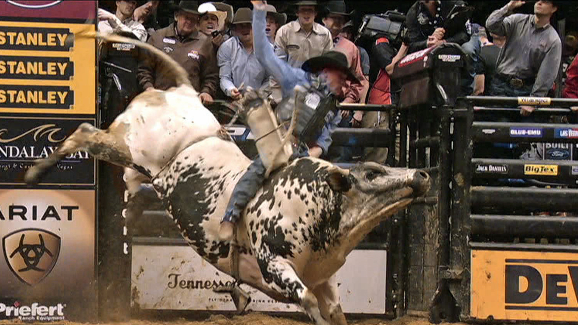 Res: 1920x1080, Pro bull riders event marks 20th year at NYC .