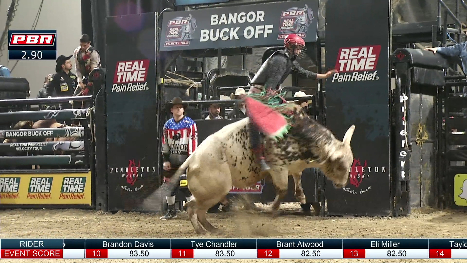 Res: 1920x1080, Eli Miller rides Calico Kid for 84 points
