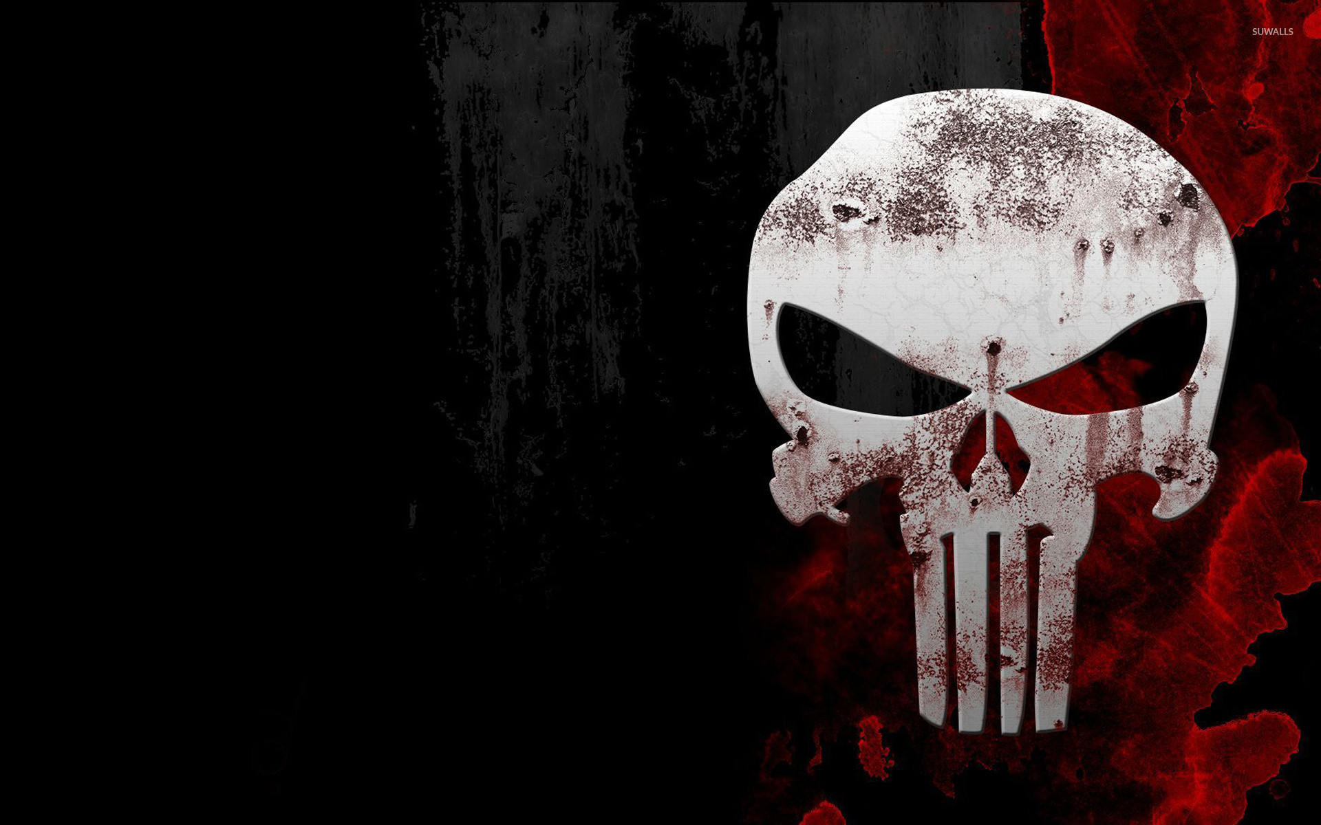 Res: 1920x1200, The Punisher skull wallpaper
