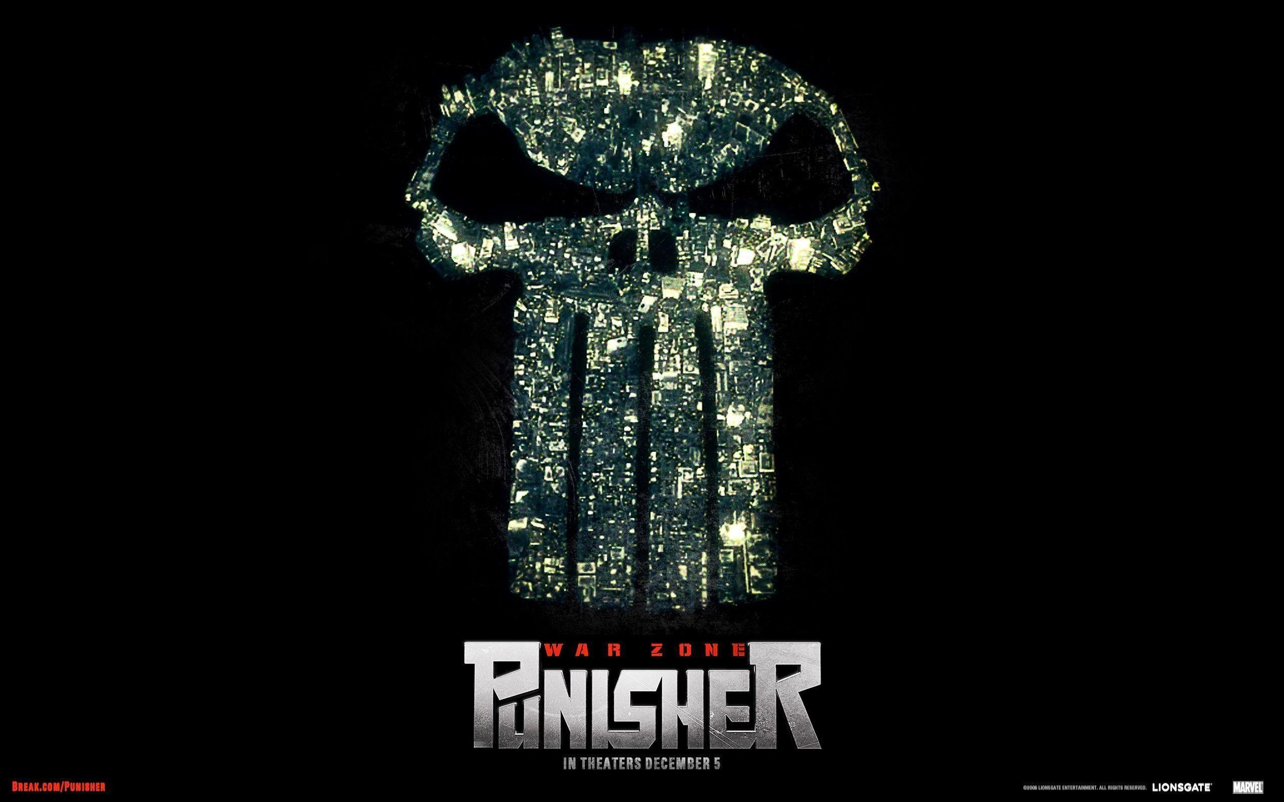 Res: 2560x1600, Punisher Skull Wallpaper