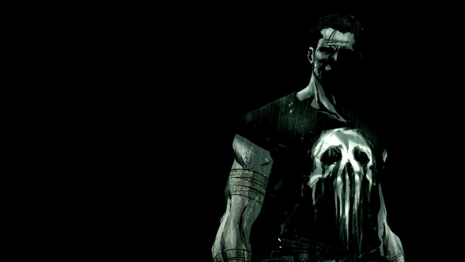 Res: 1920x1080, The Punisher Skull Wallpapers - Wallpaper Cave
