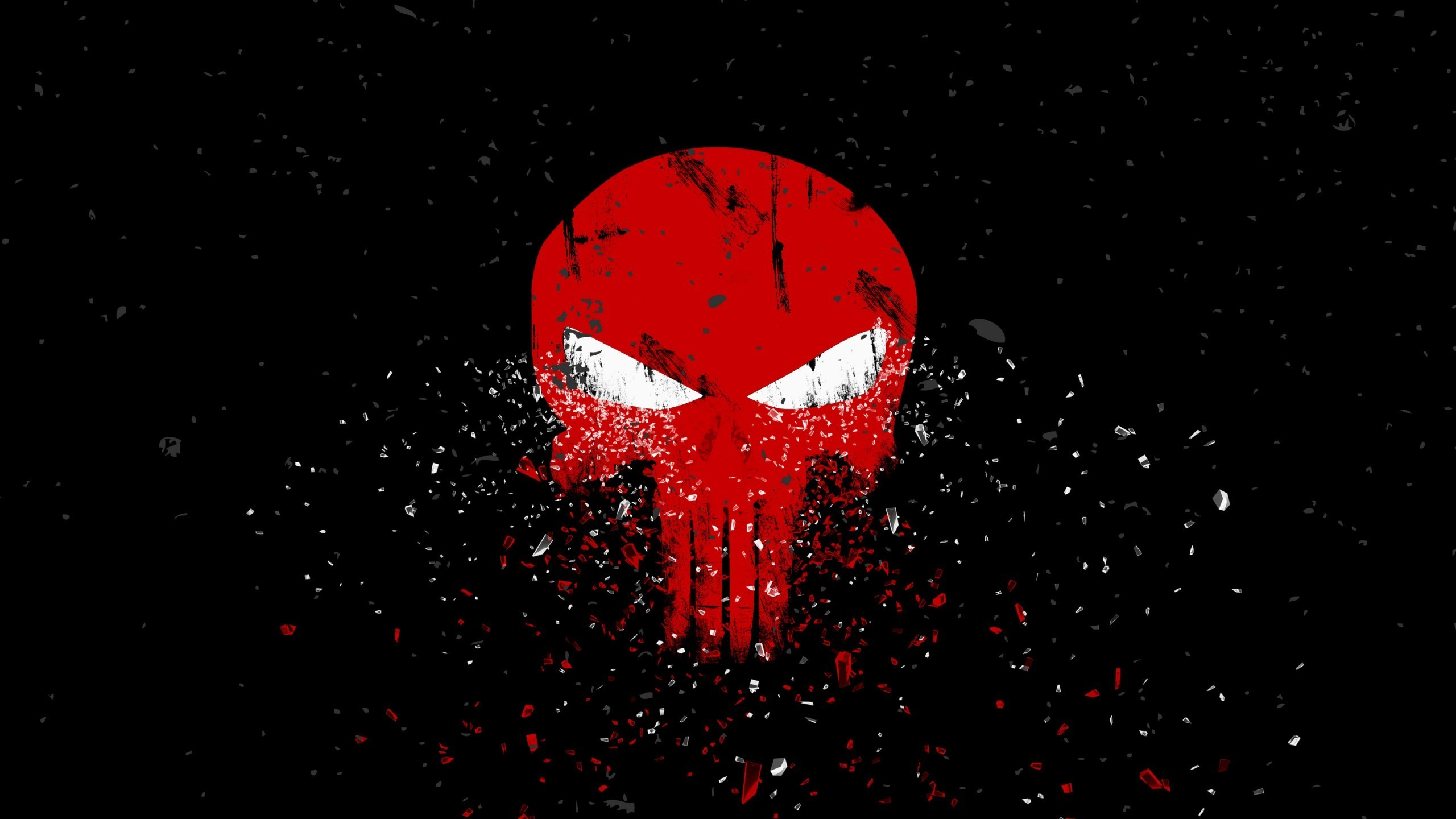 Res: 2560x1440, American Flag Punisher Skull Wallpaper 26