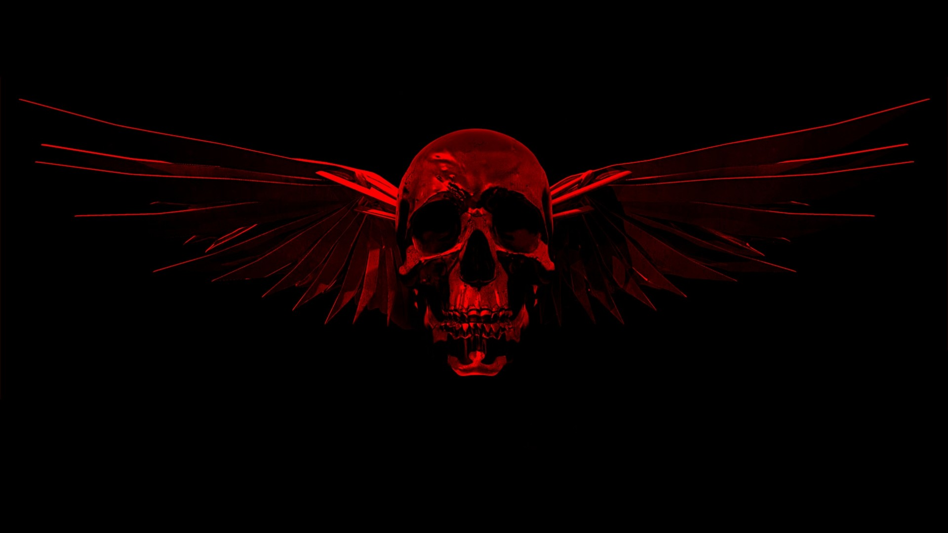 Res: 1920x1080, Red skulls wallpaper | danaspdf.top