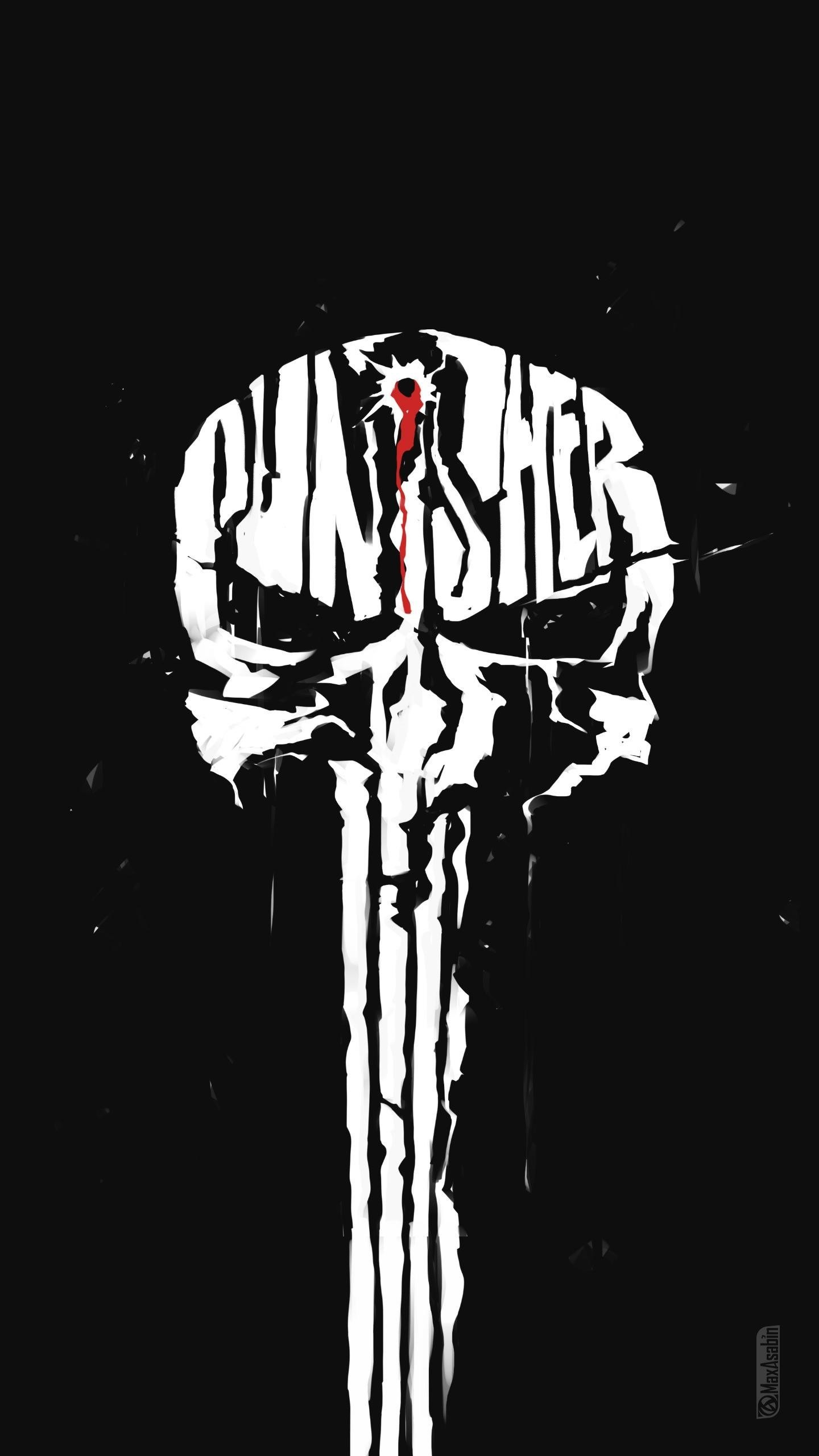 Res: 1440x2560, Download Source · Punisher Skull Wallpaper Iphone Galleryimage co